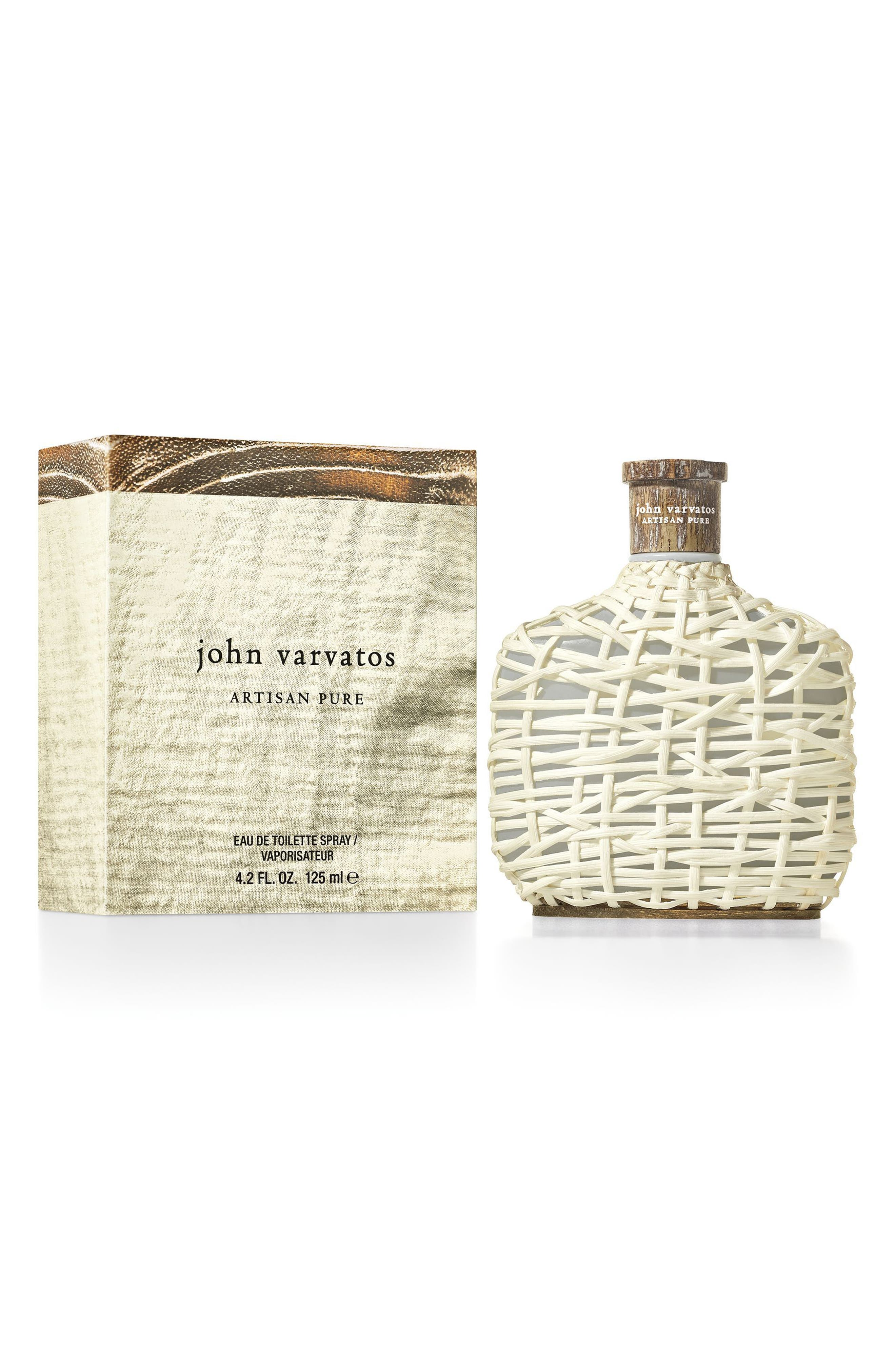 John Varvatos Artisan Pure Eau de Toilette,                             Alternate thumbnail 3, color,                             No Color