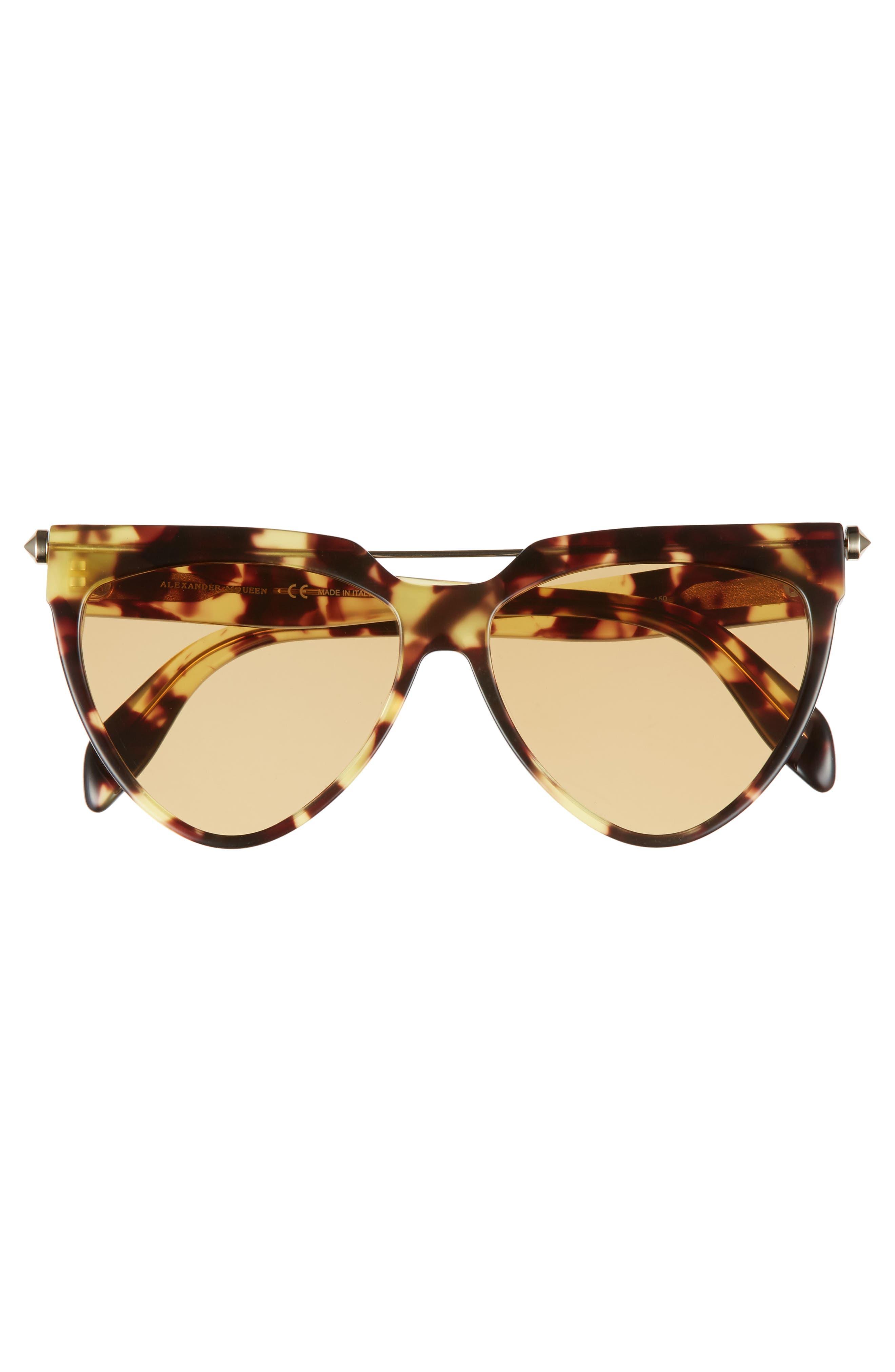 Alternate Image 3  - Alexander McQueen 58mm Cat Eye Sunglasses