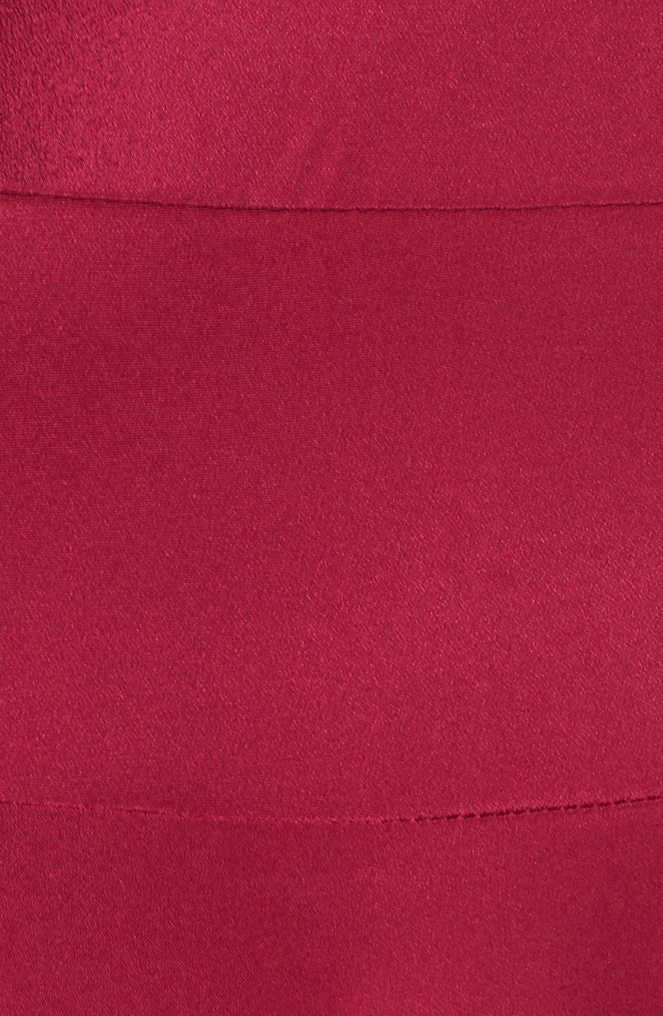 Alternate Image 5  - Sam Edelman Cold Shoulder A-Line Dress