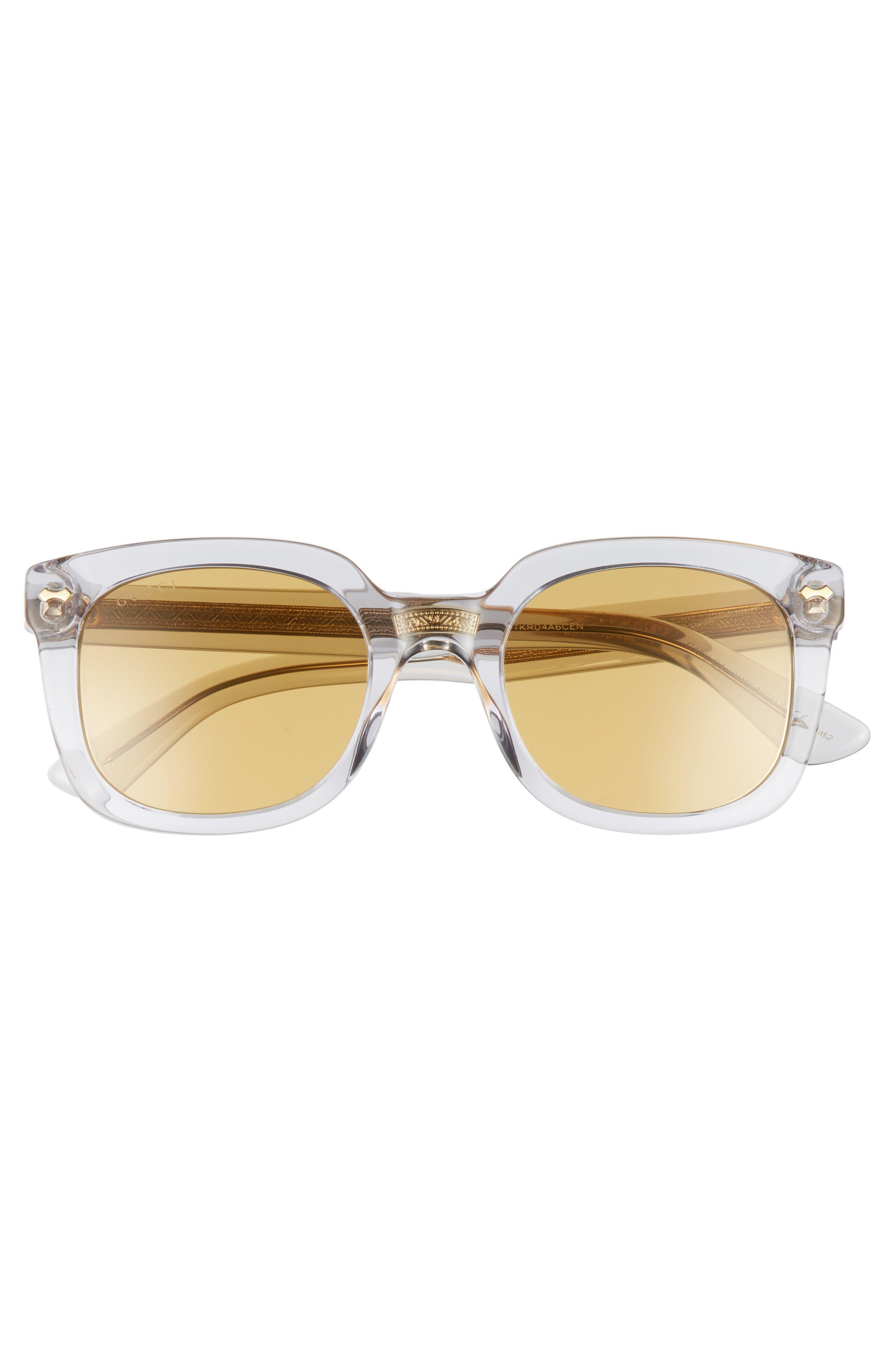 Alternate Image 2  - Gucci 50mm Square Sunglasses