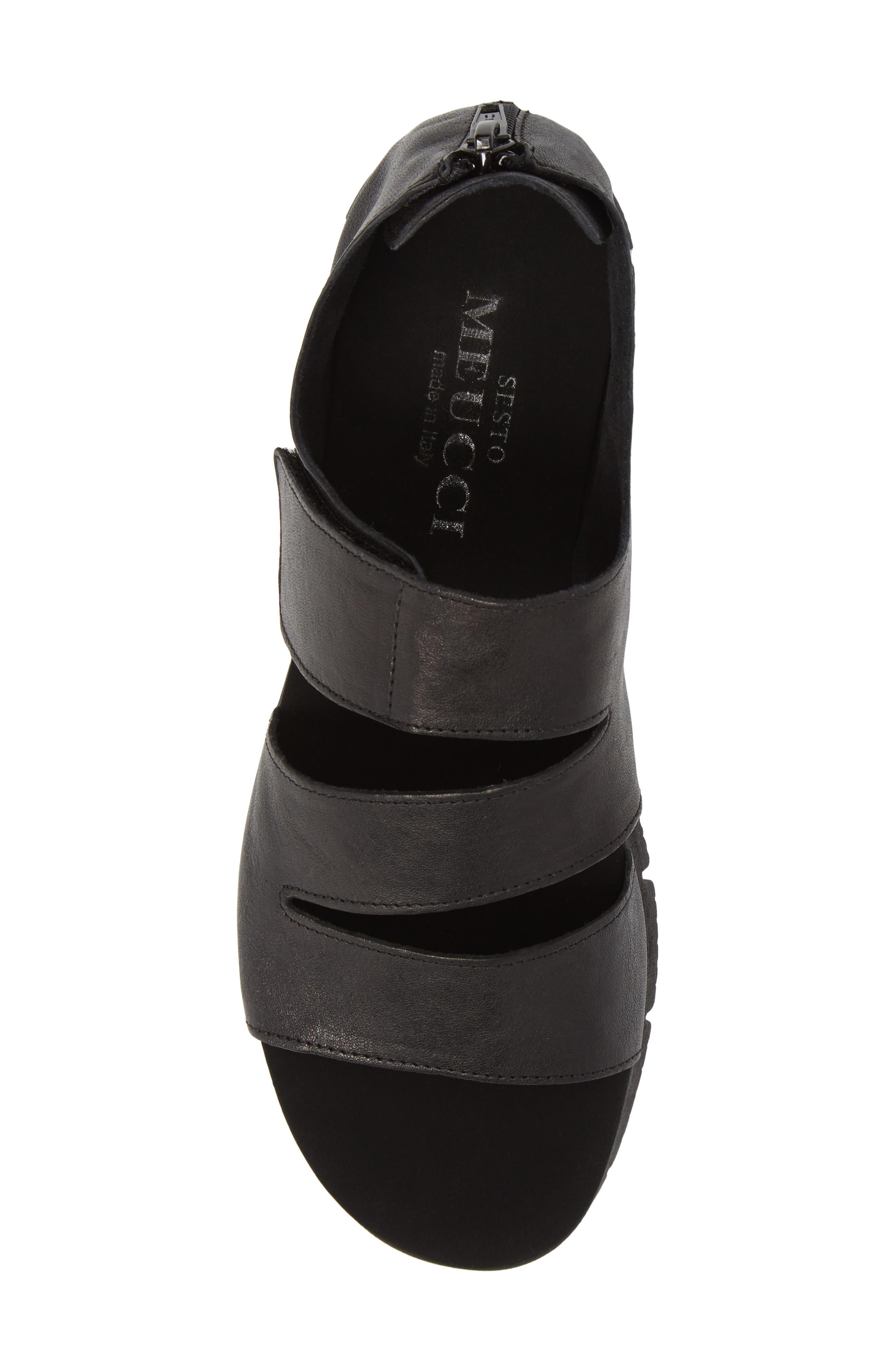 Tango Sandal,                             Alternate thumbnail 5, color,                             Black Rock/ Tory Black Rubber
