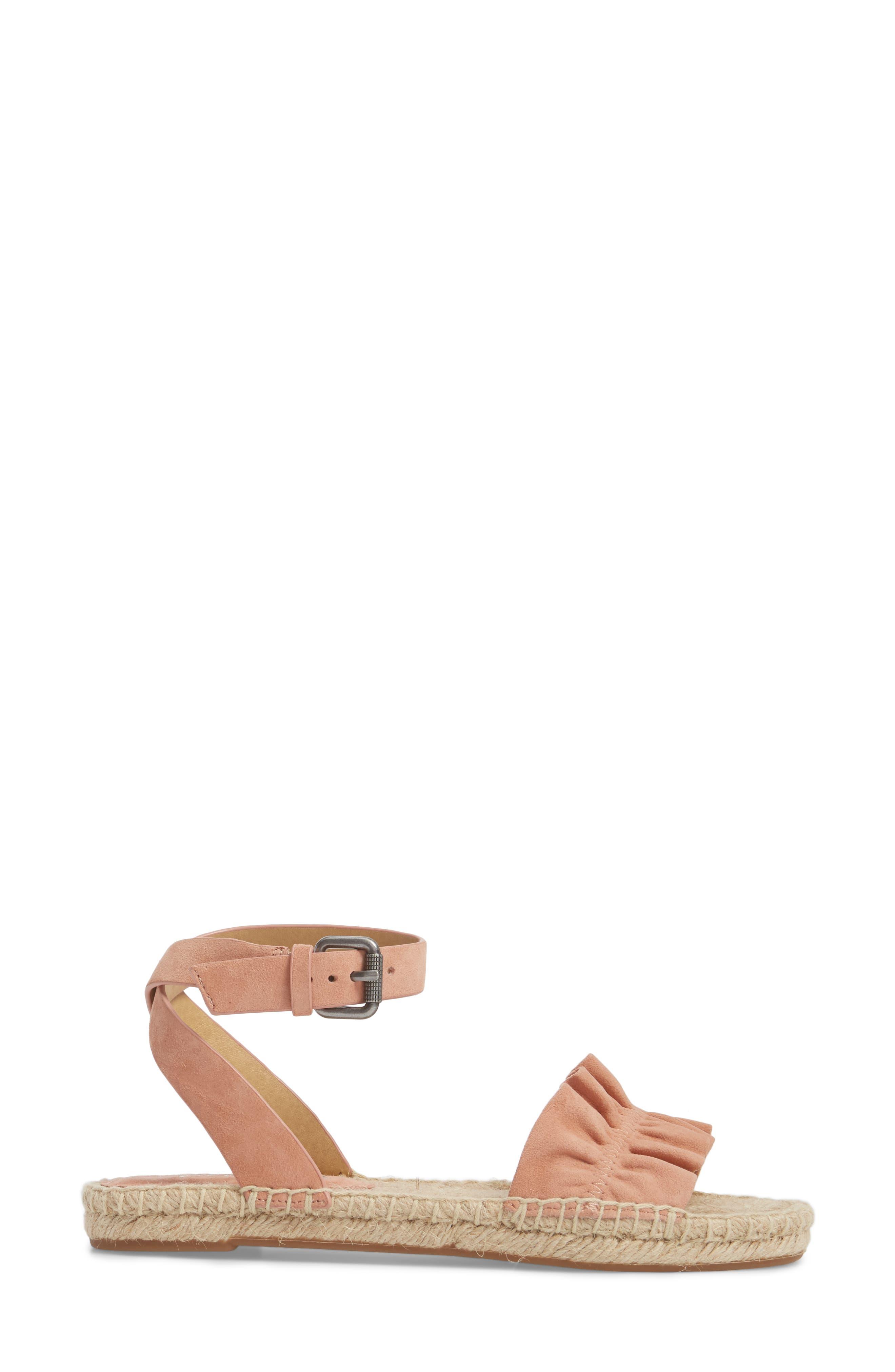 Alternate Image 3  - Splendid Becca Ruffled Espadrille Sandal (Women)