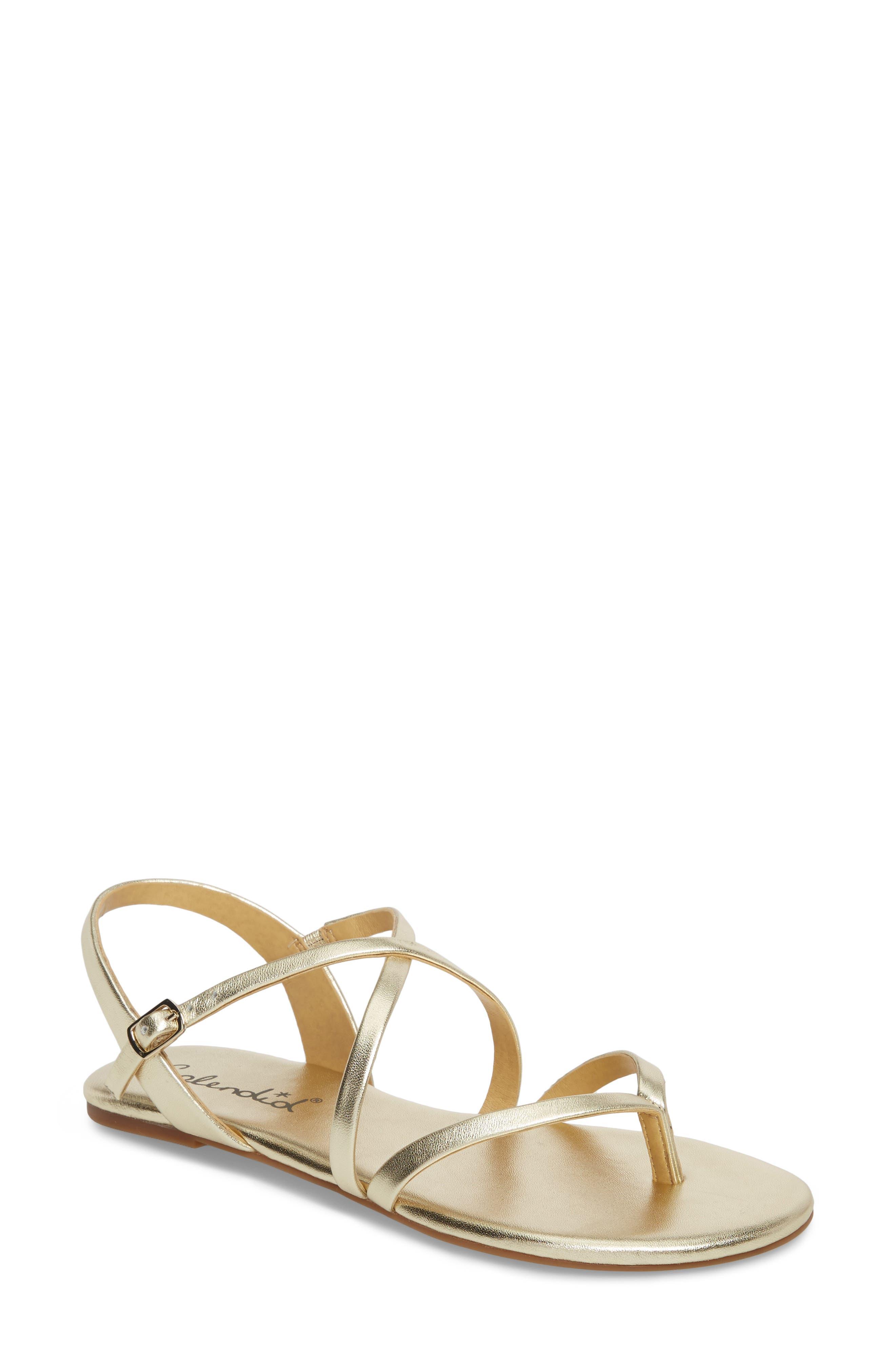Main Image - Splendid Brett Strappy Flat Sandal (Women)