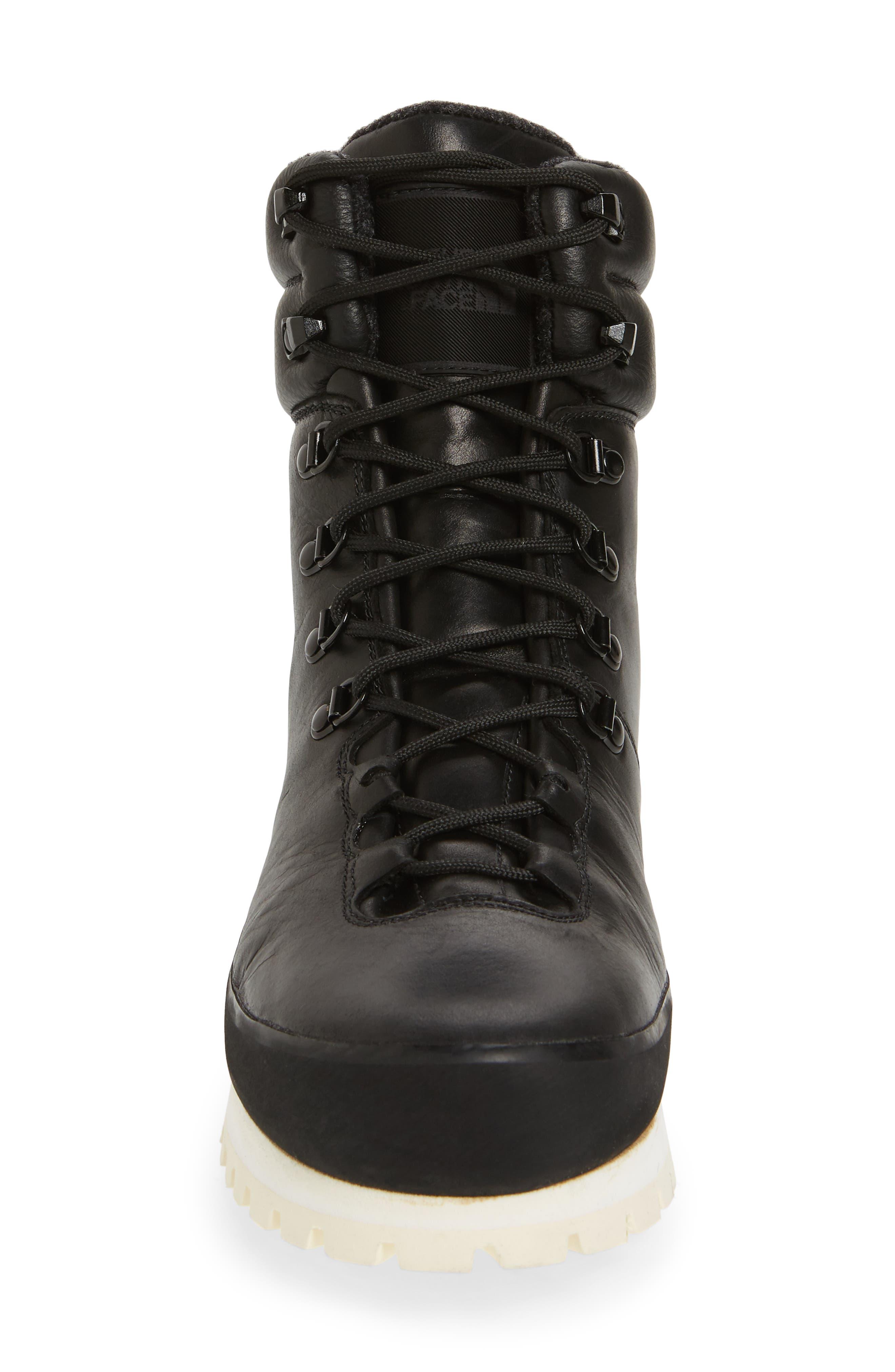 Cryos Hiker Boot,                             Alternate thumbnail 4, color,                             Tnf Black/ Tnf White