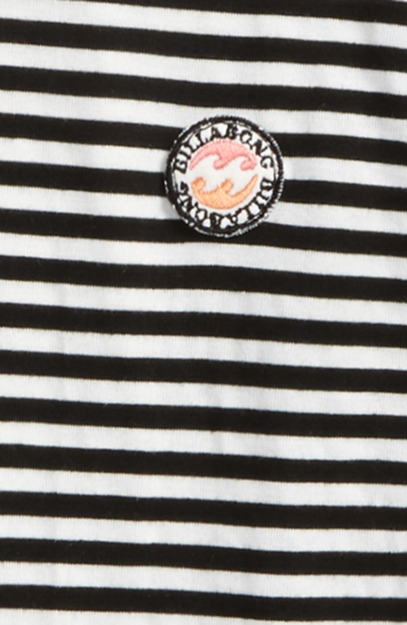 Alternate Image 2  - Billabong These Days Stripe Hoodie (Little Girls & Big Girls)