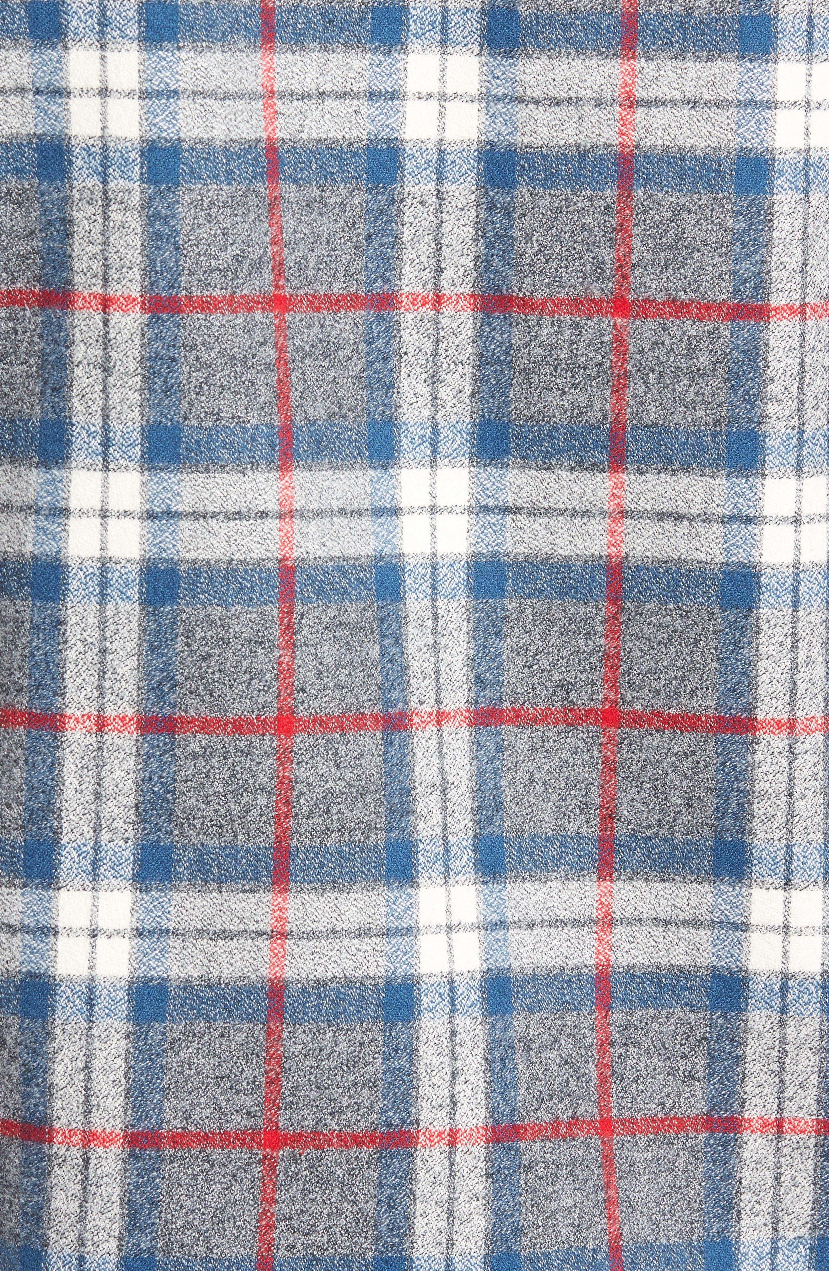 Alternate Image 5  - Jeff Brattleb Slim Fit Plaid Sport Shirt