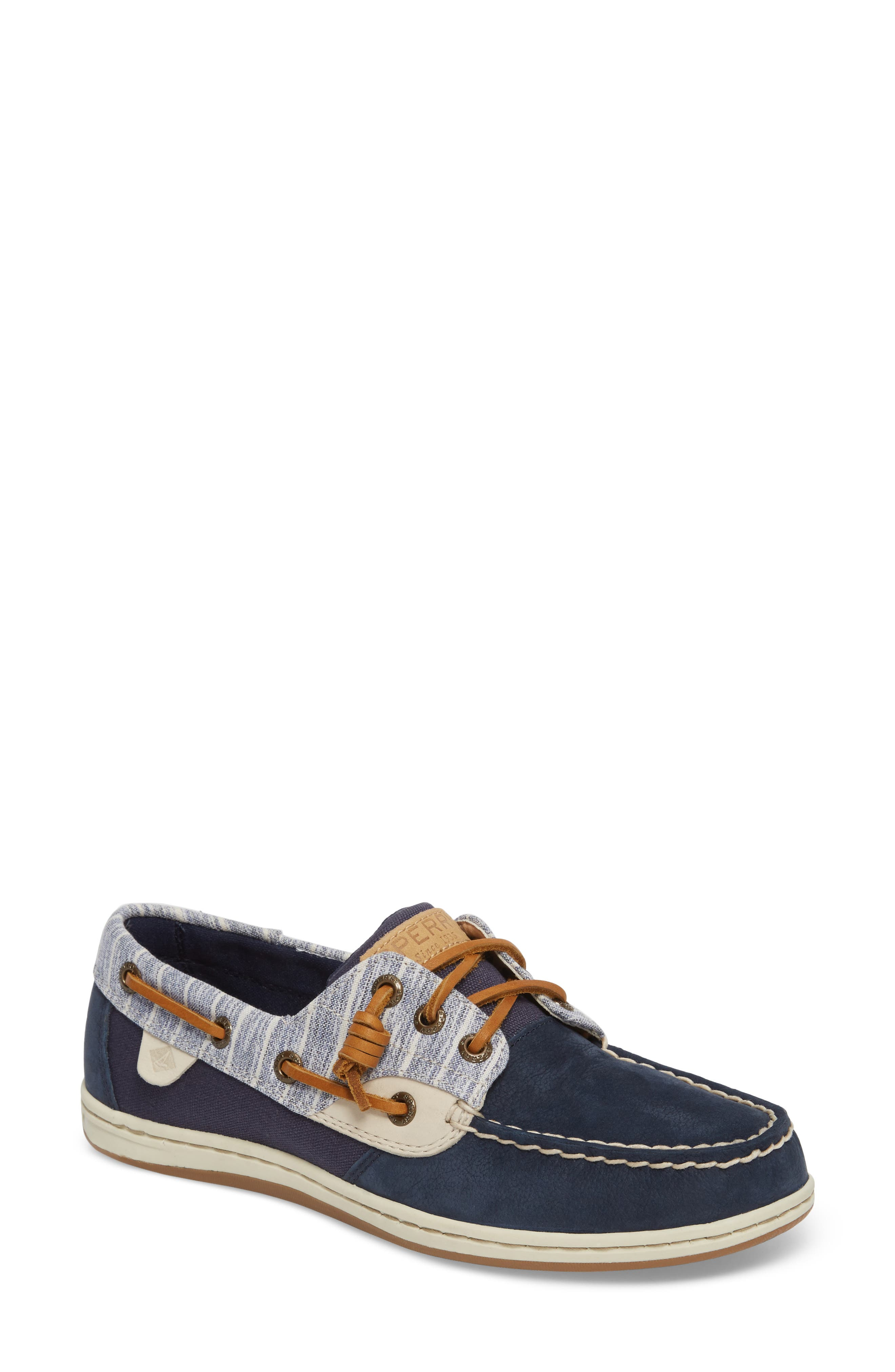 Sperry Songfish Painterly Boat Shoe (Women)