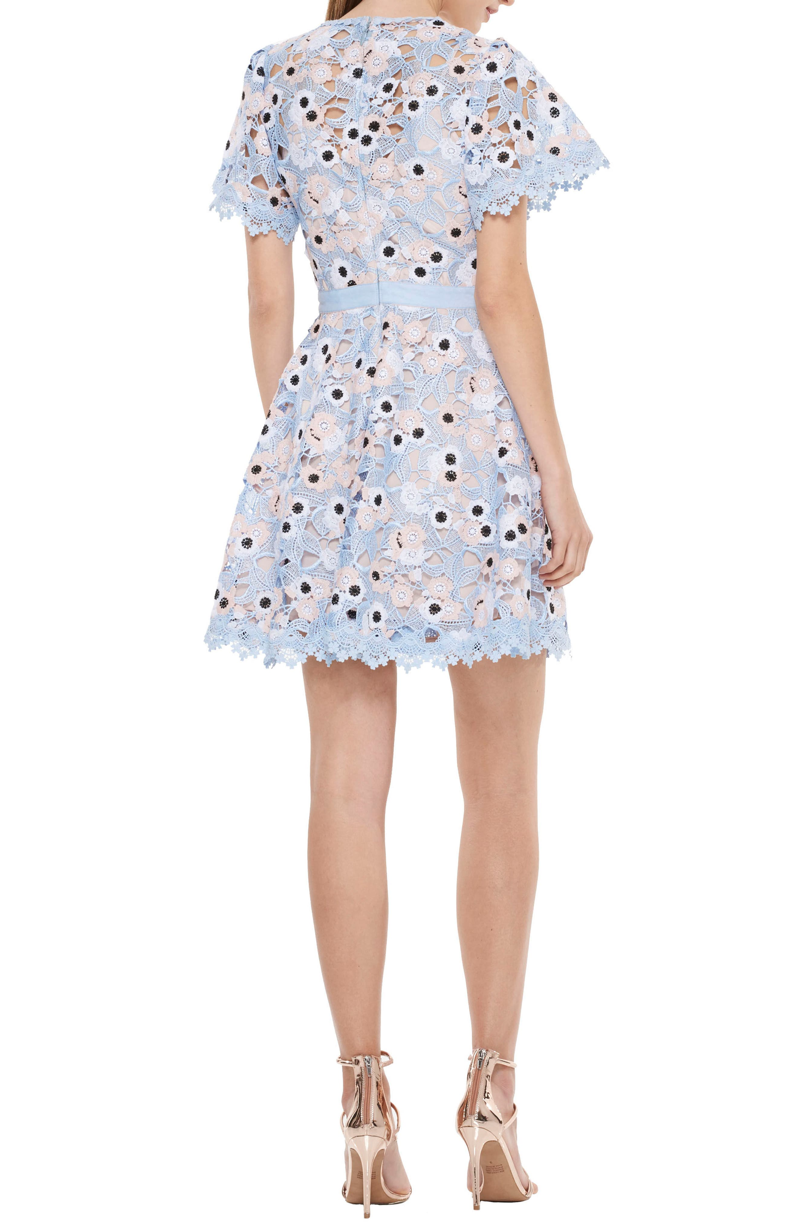 Alternate Image 2  - LA MAISON TALULAH Infatuation Crochet Dress