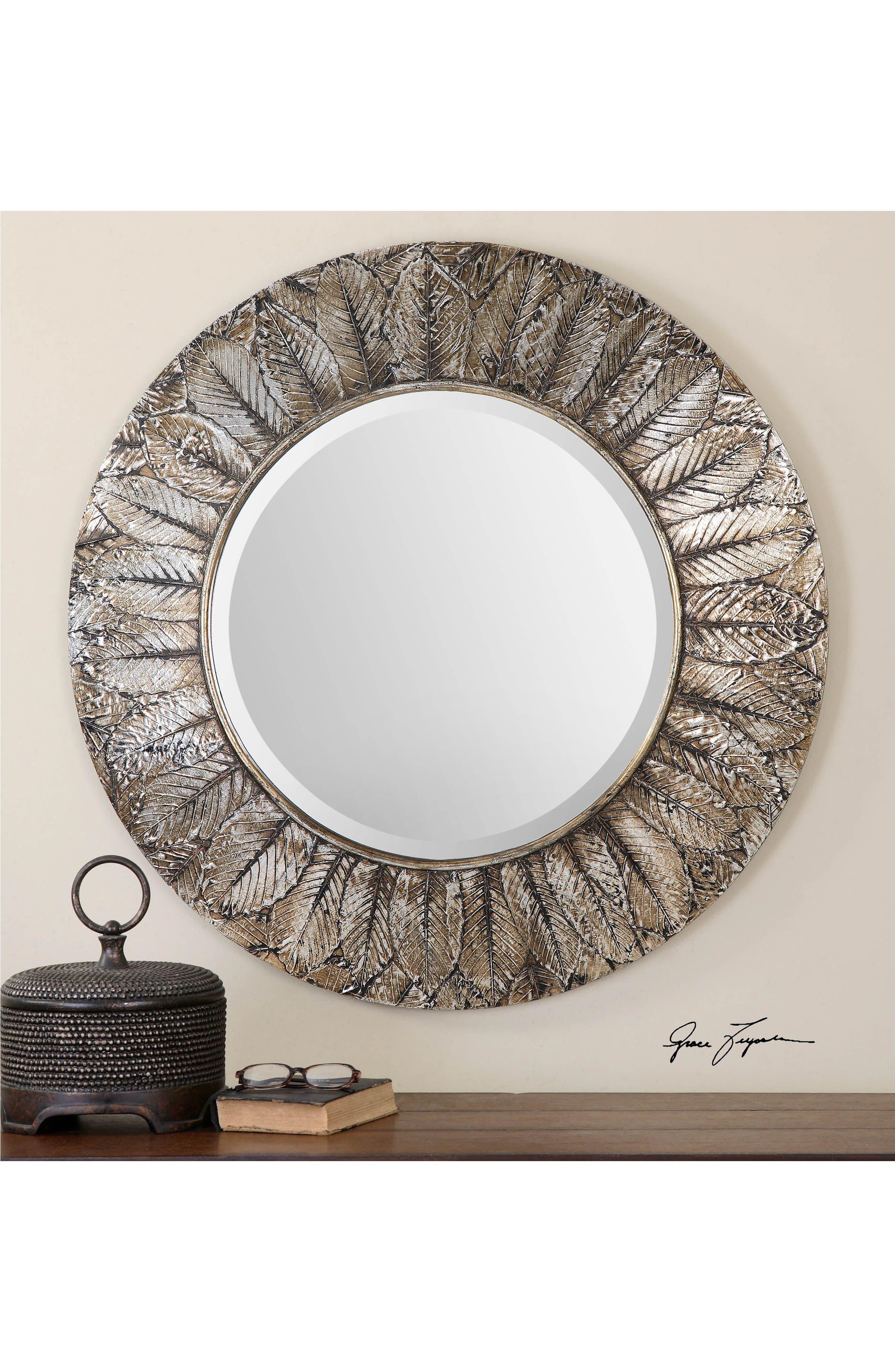 Alternate Image 2  - Uttermost Foliage Wall Mirror