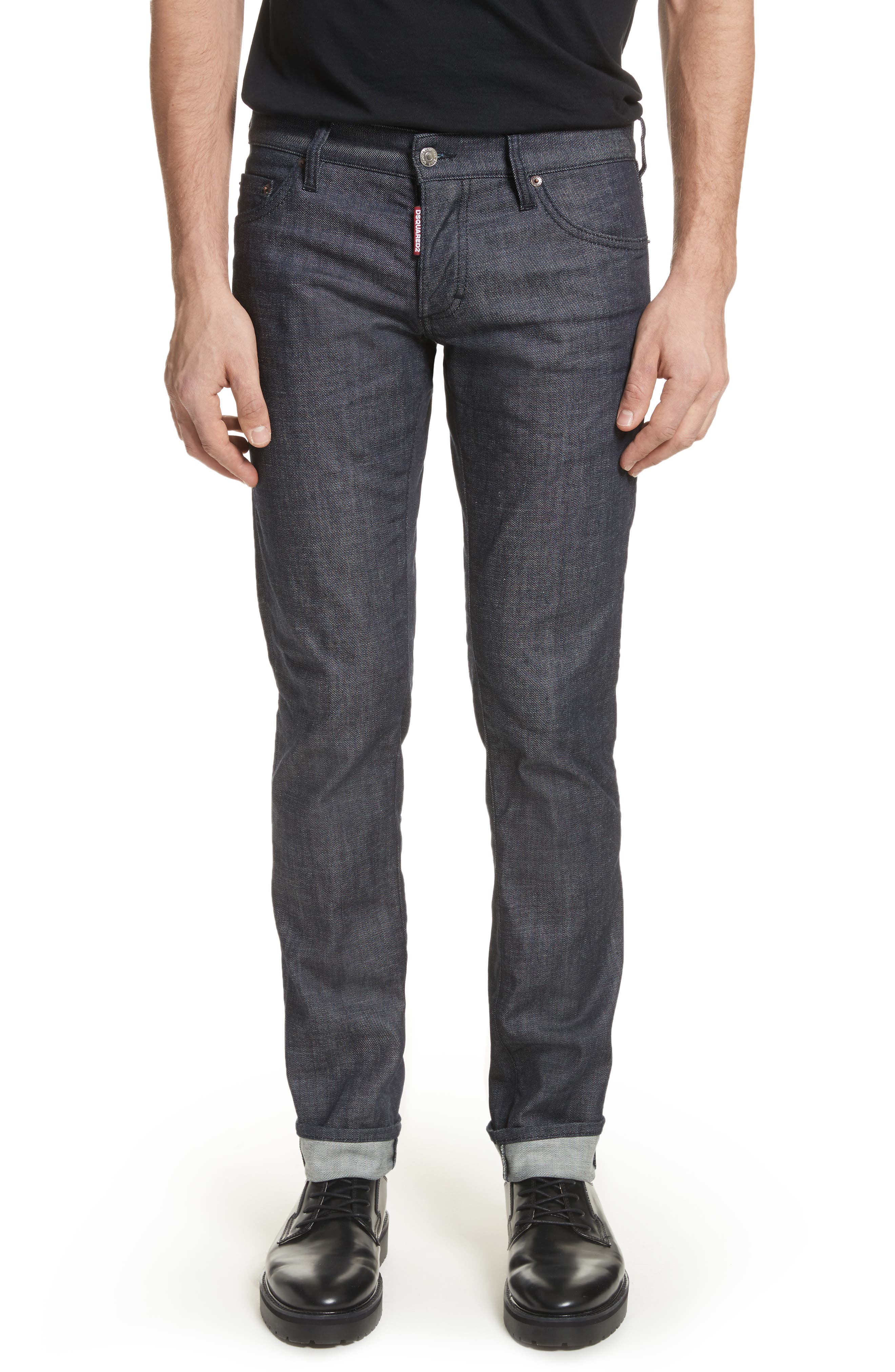 24-7Star Slim Fit Jeans,                         Main,                         color, Navy/Blue