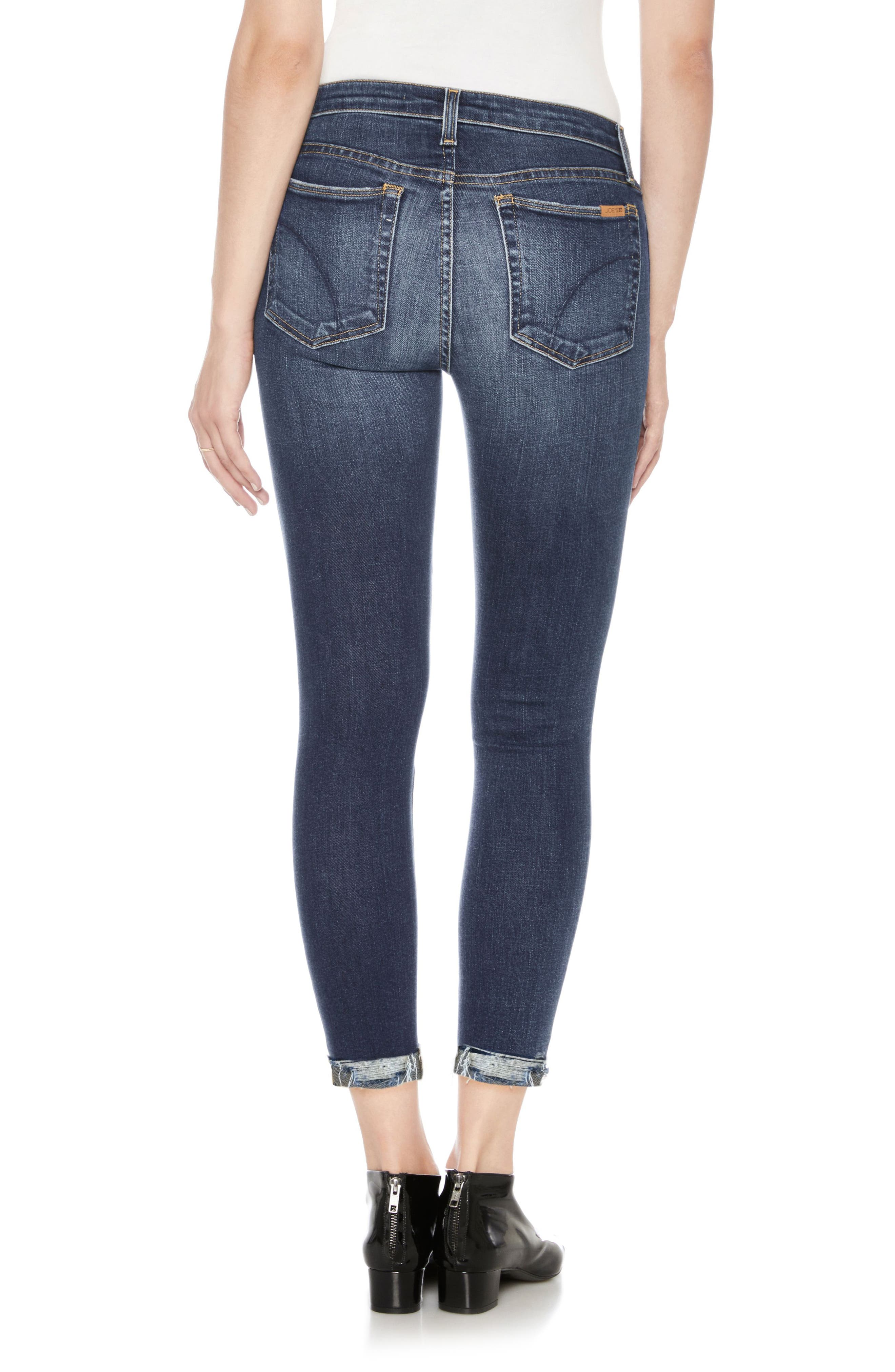 Icon Ankle Skinny Jeans,                             Alternate thumbnail 2, color,                             Theodora