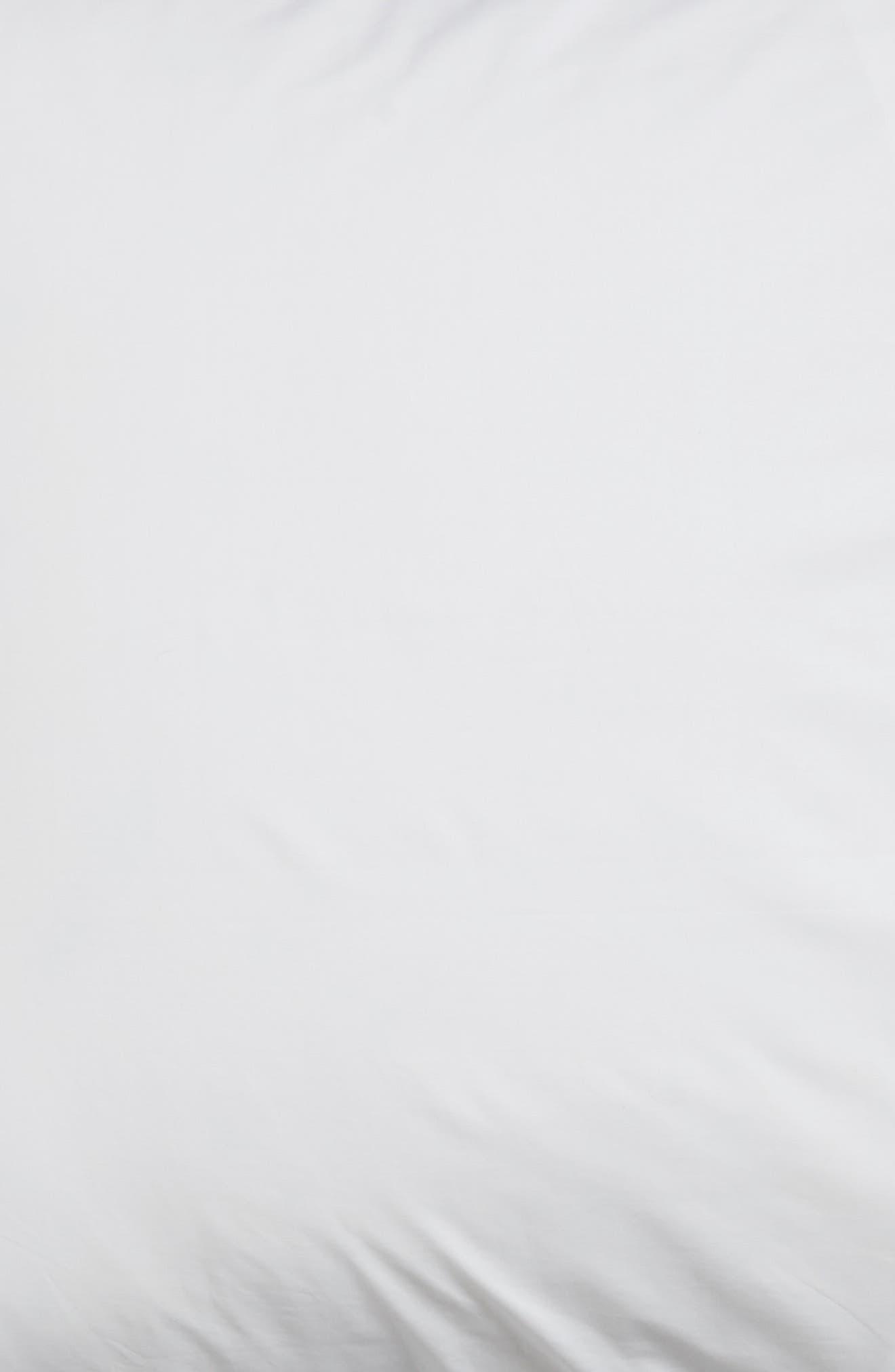 Orlo Euro Sham,                             Alternate thumbnail 3, color,                             White/ Cornflower