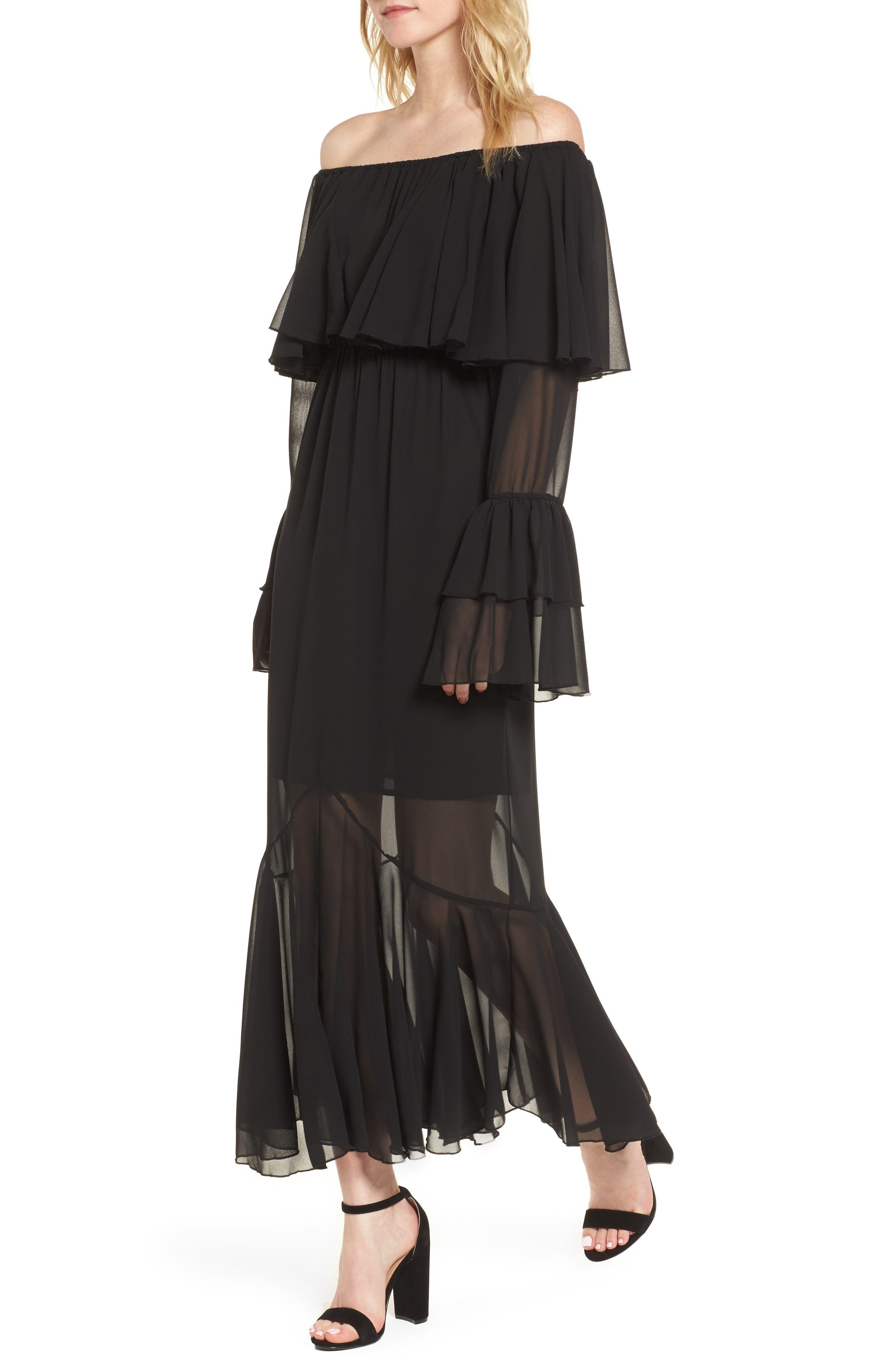 Day Dreamer Dress,                             Main thumbnail 1, color,                             Black
