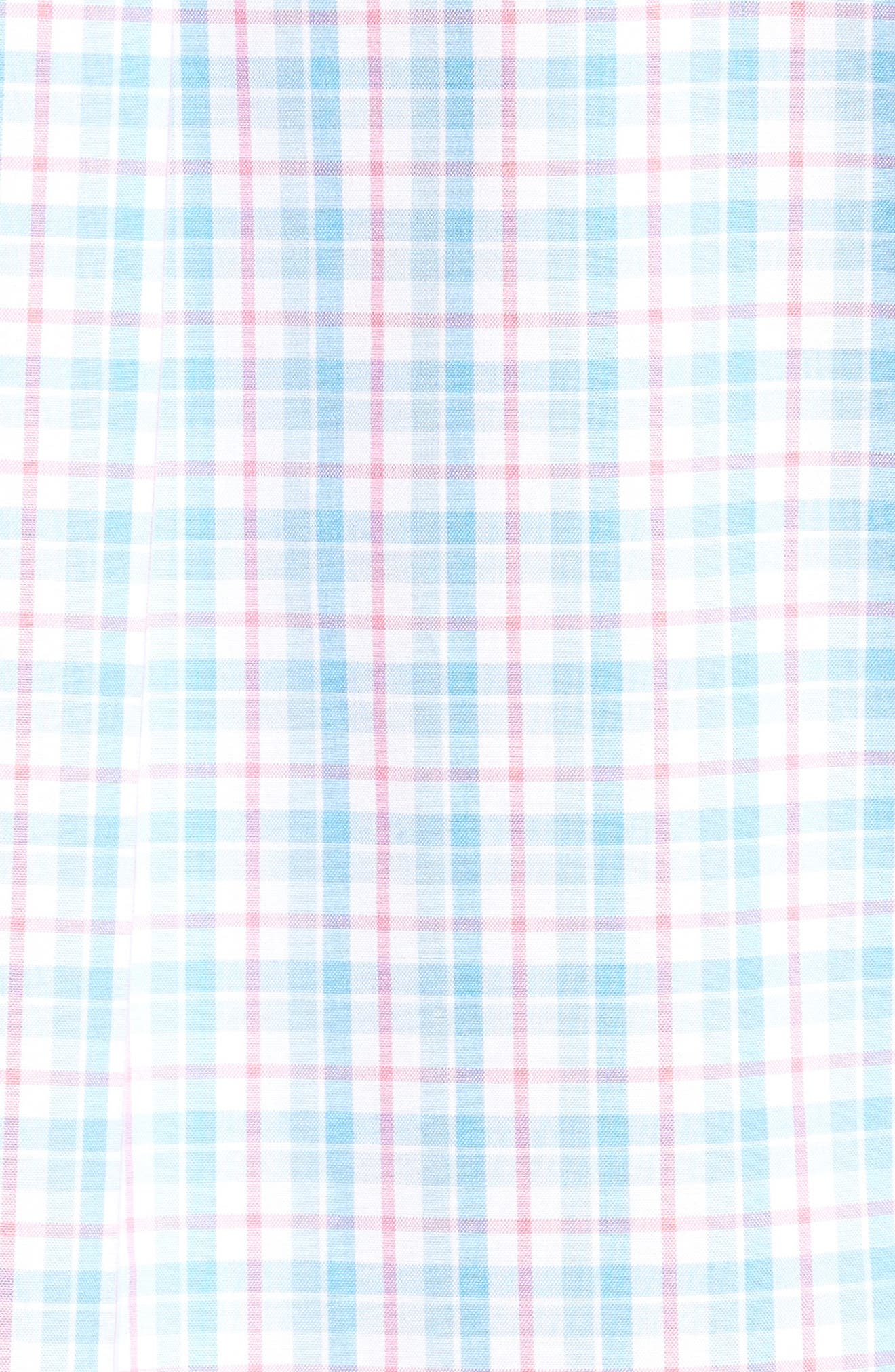 Alternate Image 5  - vineyard vines Off Island Classic Fit Plaid Sport Shirt