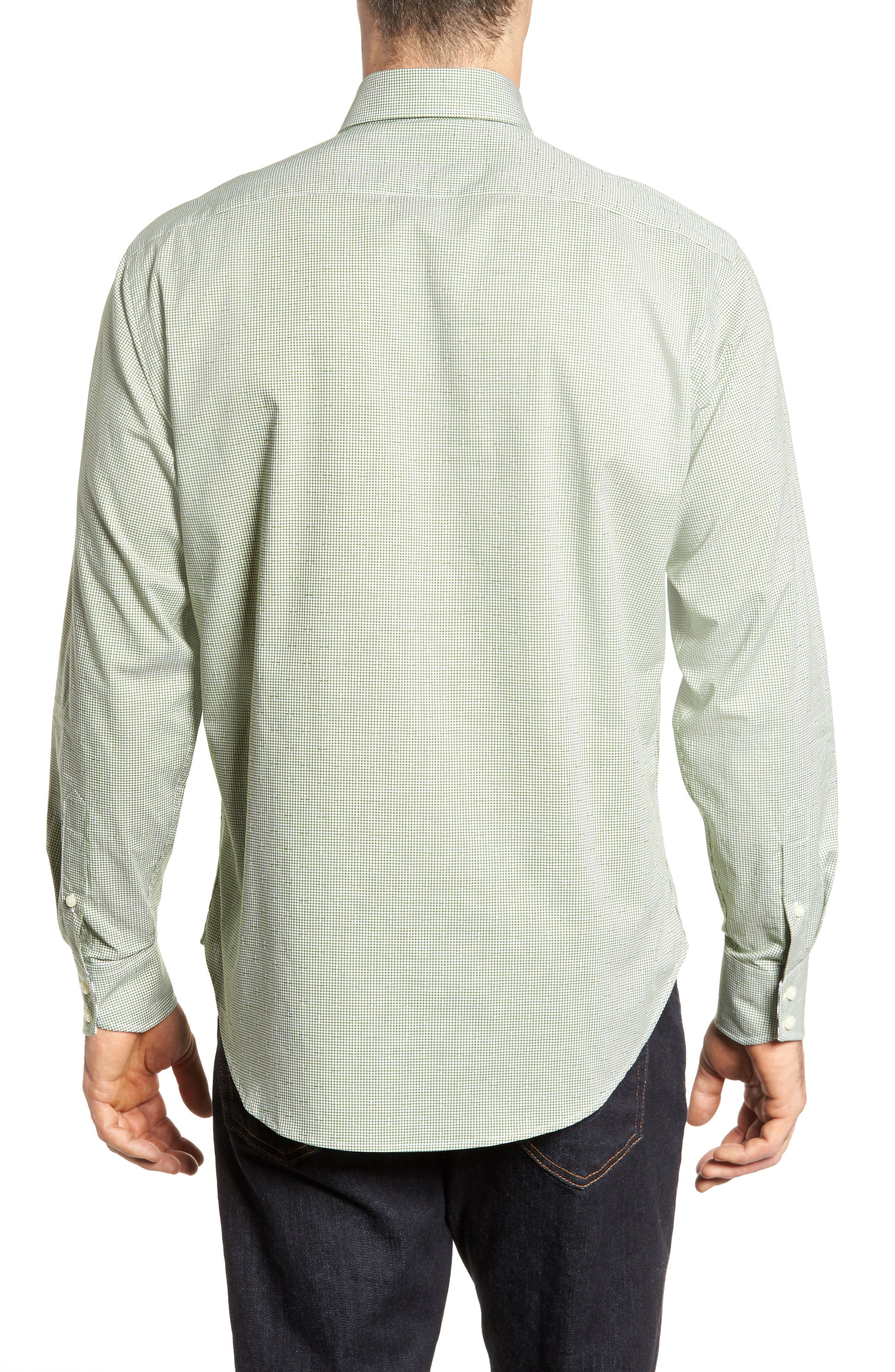 Alternate Image 2  - Thomas Dean Check Sport Shirt