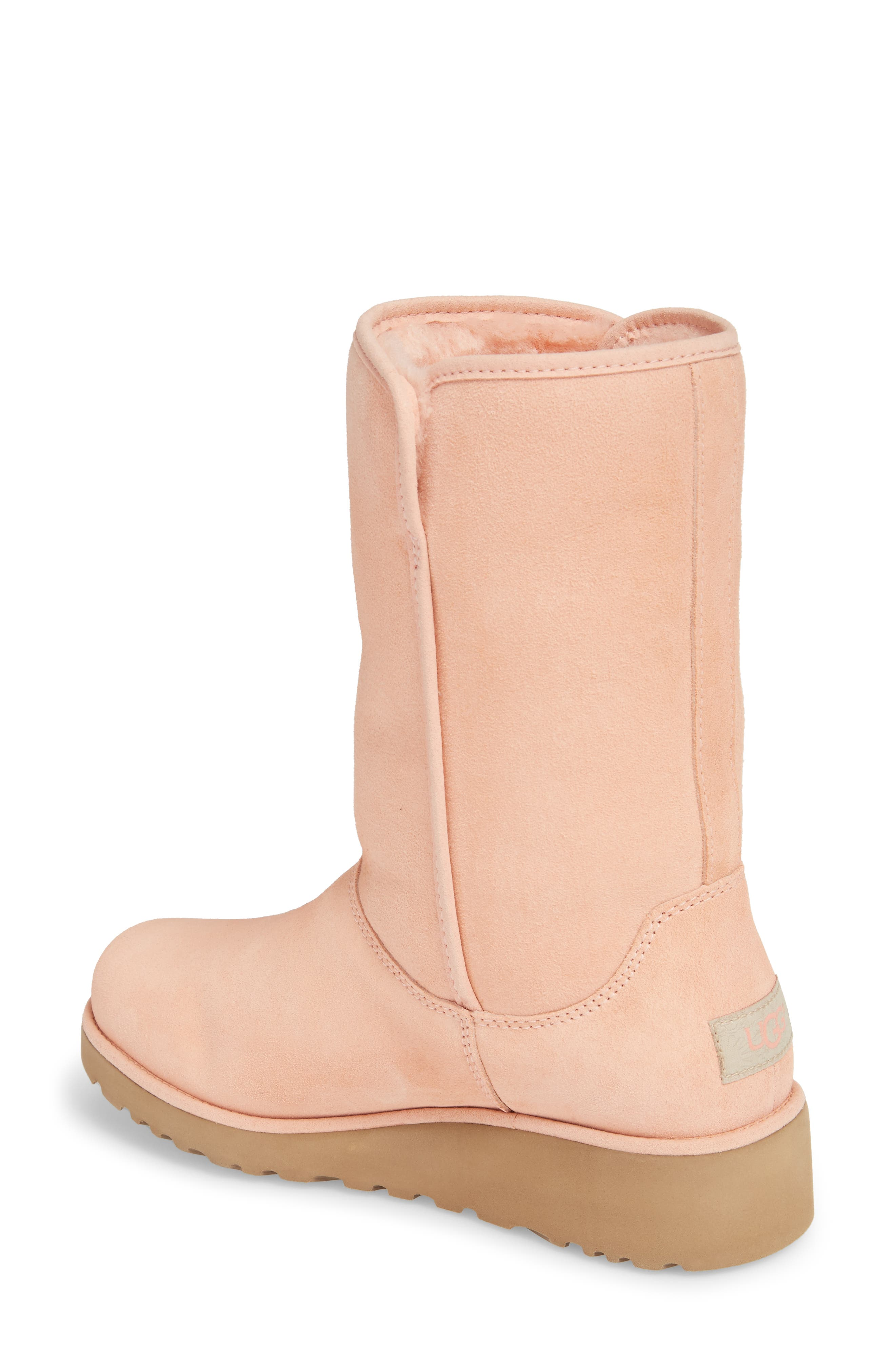 Alternate Image 2  - UGG® Amie - Classic Slim™ Water Resistant Short Boot (Women)