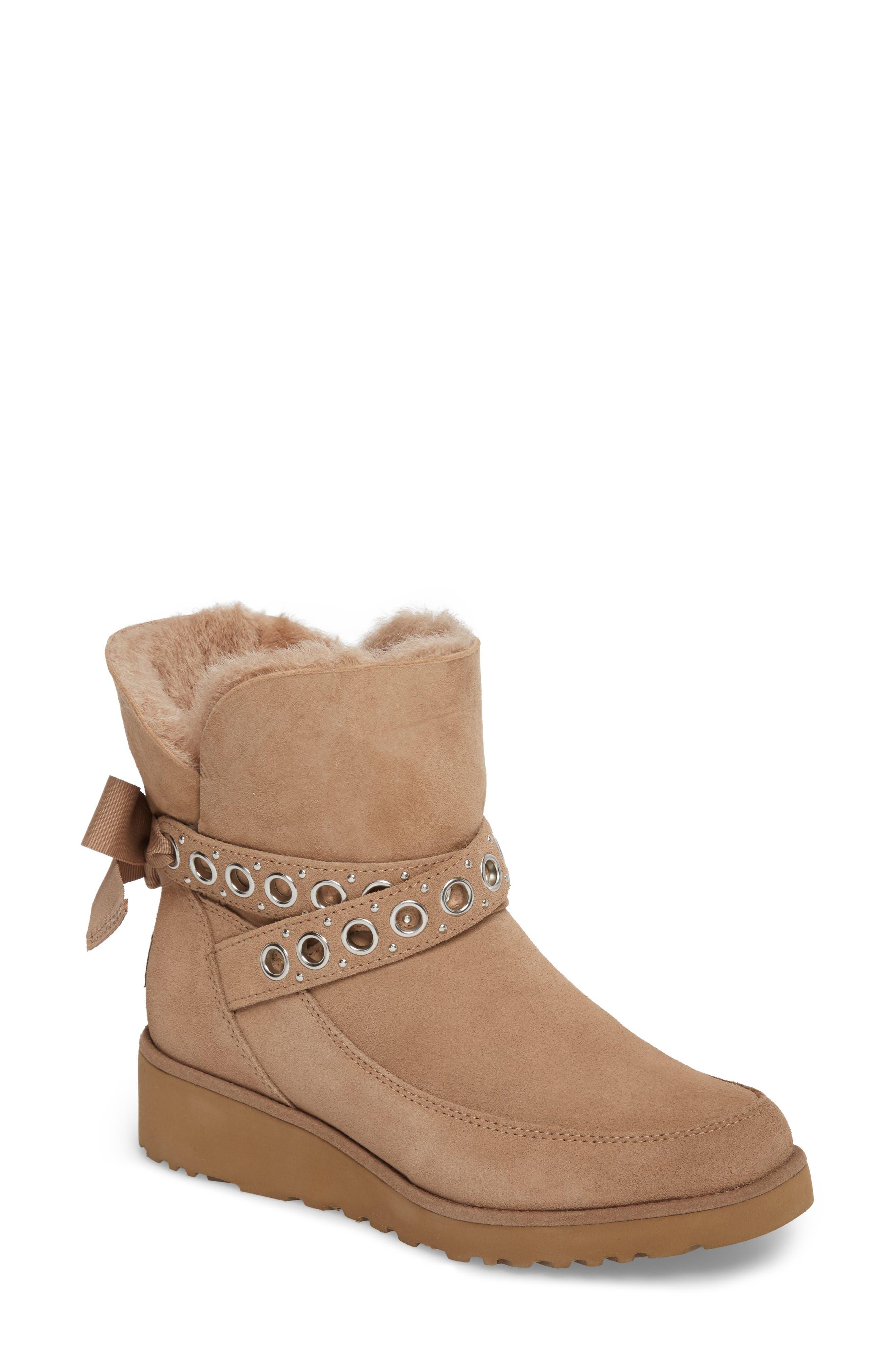 UGG® Alisia Grommet Bow Boot (Women)