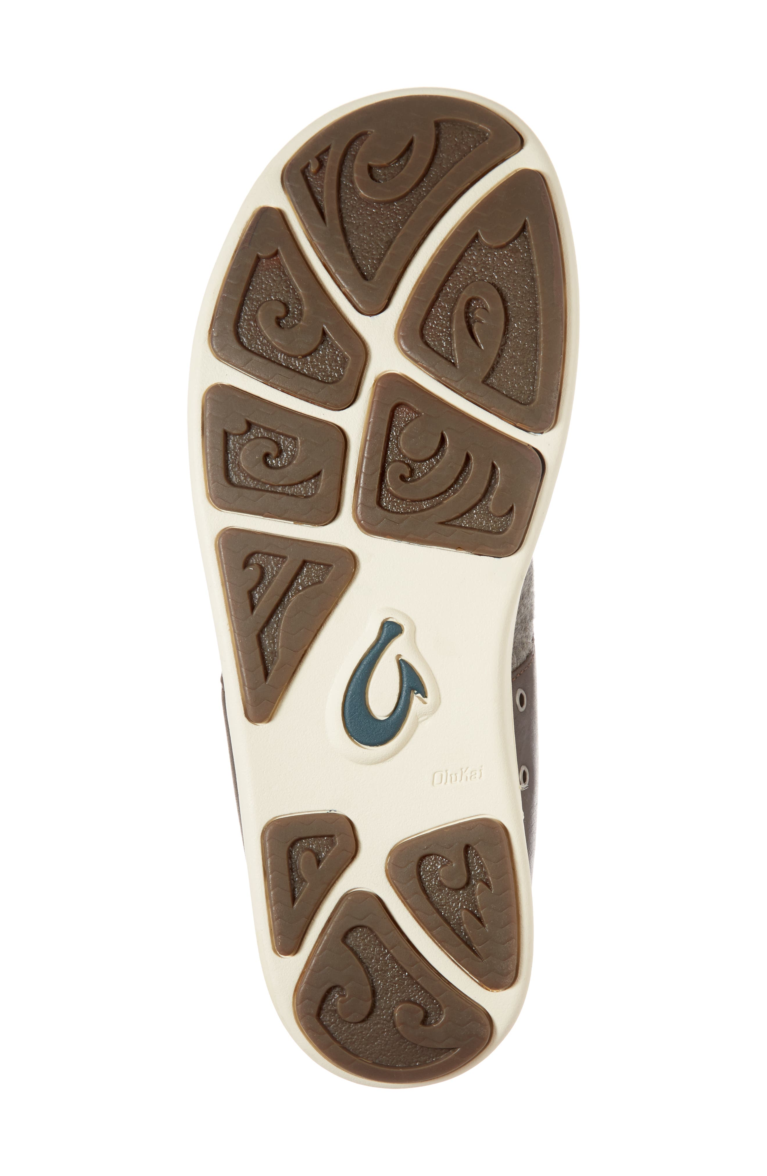 Nohea Moku Hulu Sneaker,                             Alternate thumbnail 6, color,                             Dark Roast/ Charcoal Wool