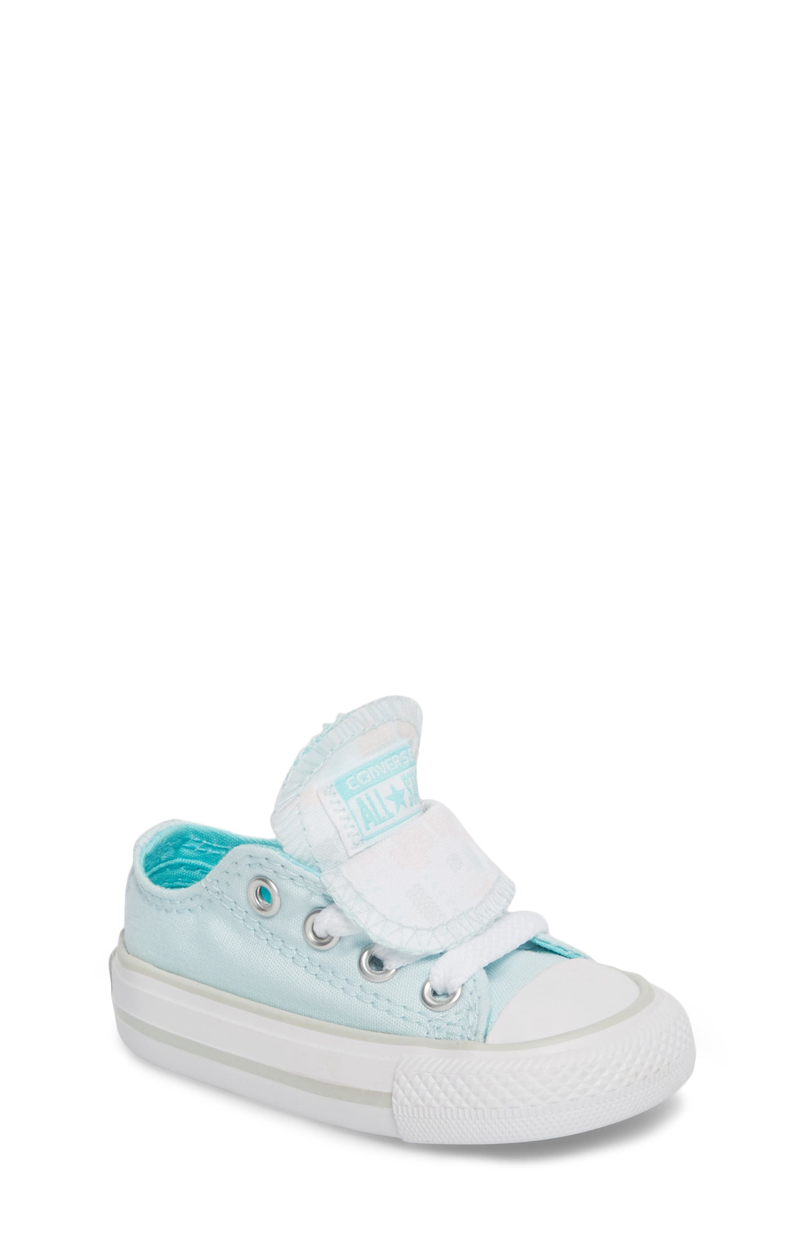 Converse All Star® Double Tongue Sneaker (Baby, Walker, Toddler, Little Kid & Big Kid)