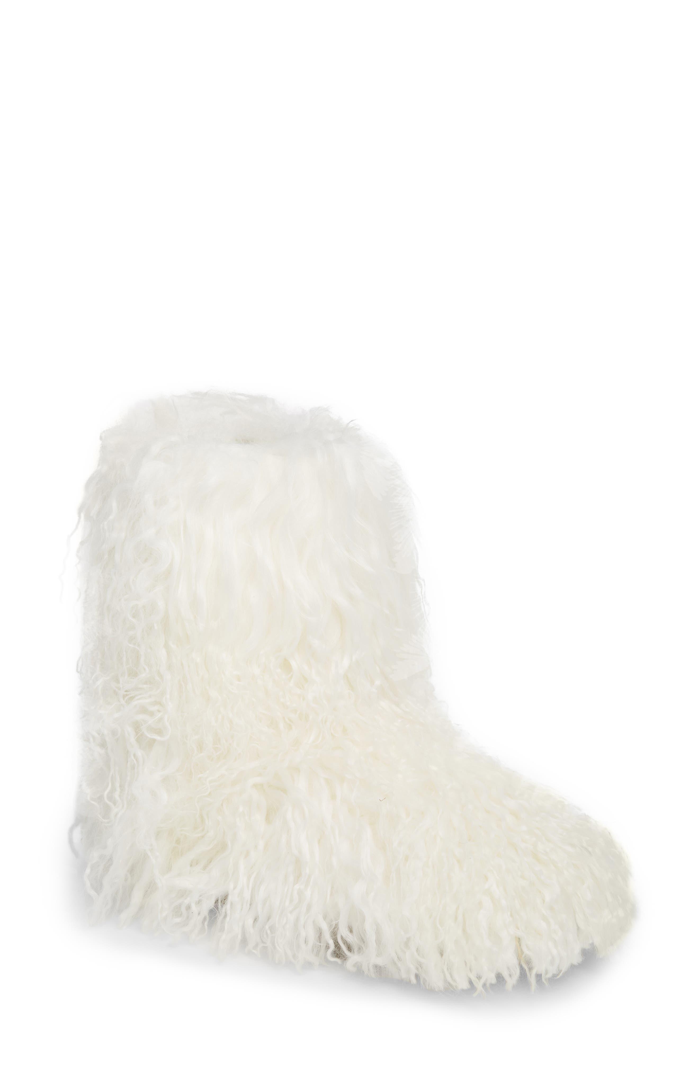 UGG® Momma Genuine Shearling Boot (Women)