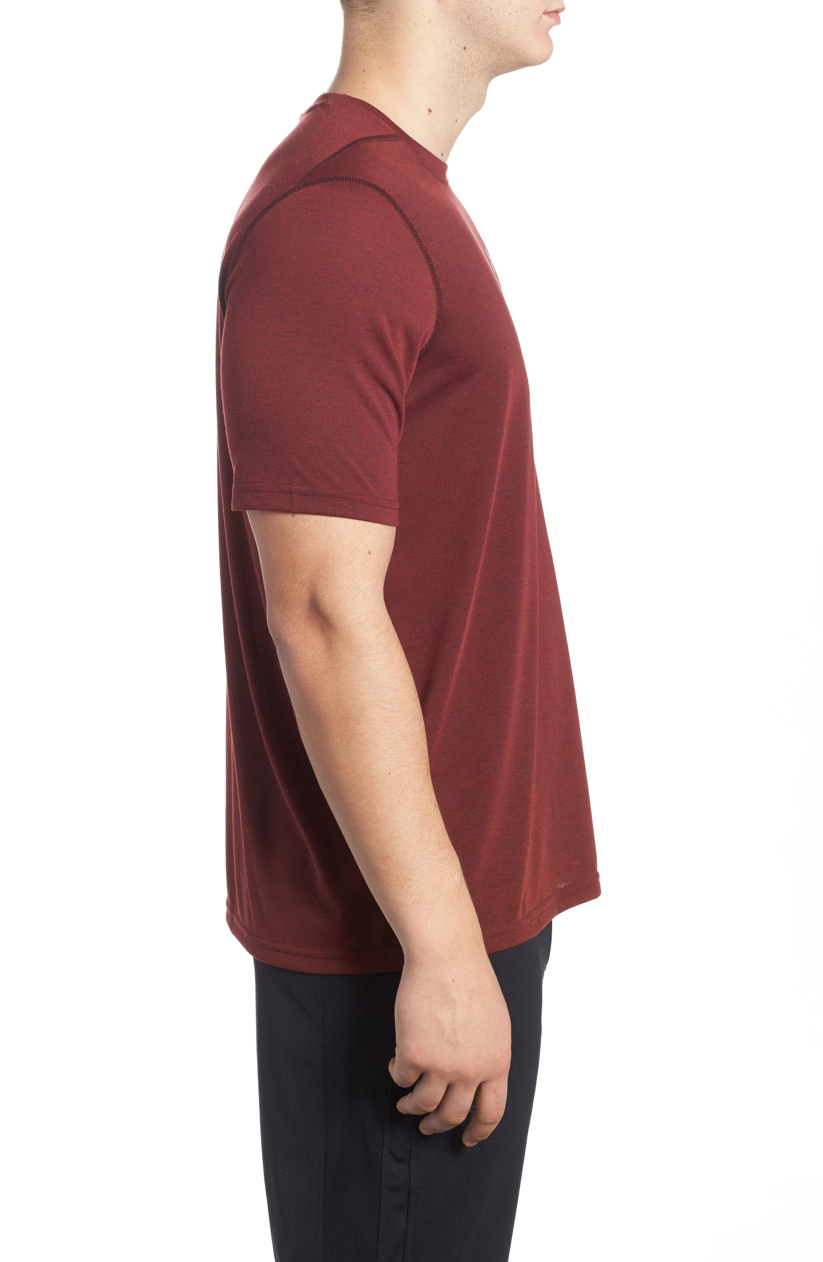 Alternate Image 3  - Under Armour Threadborne Siro 3C Twist T-Shirt