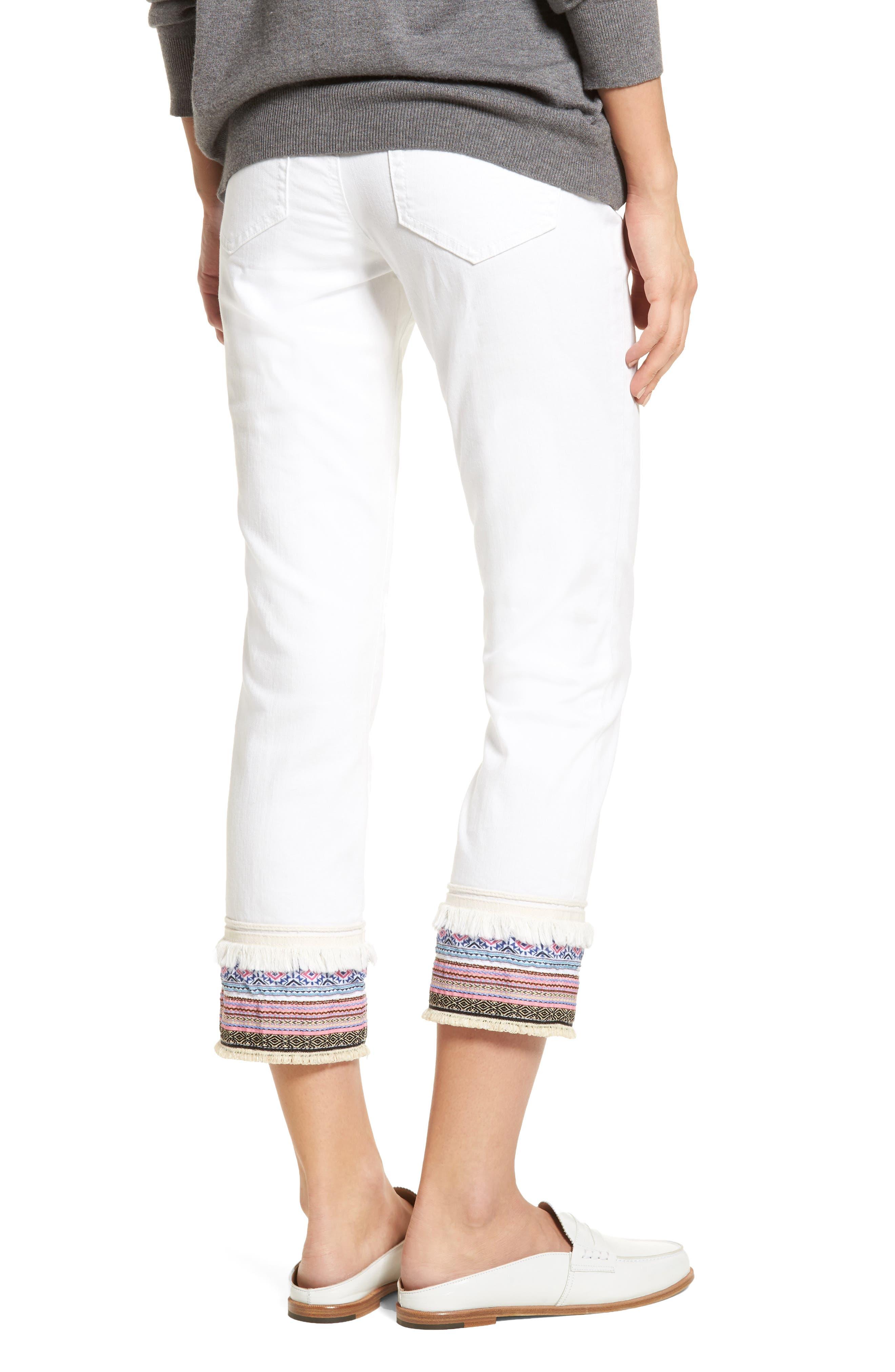 Alternate Image 2  - Jag Jeans Embellished Denim Pants