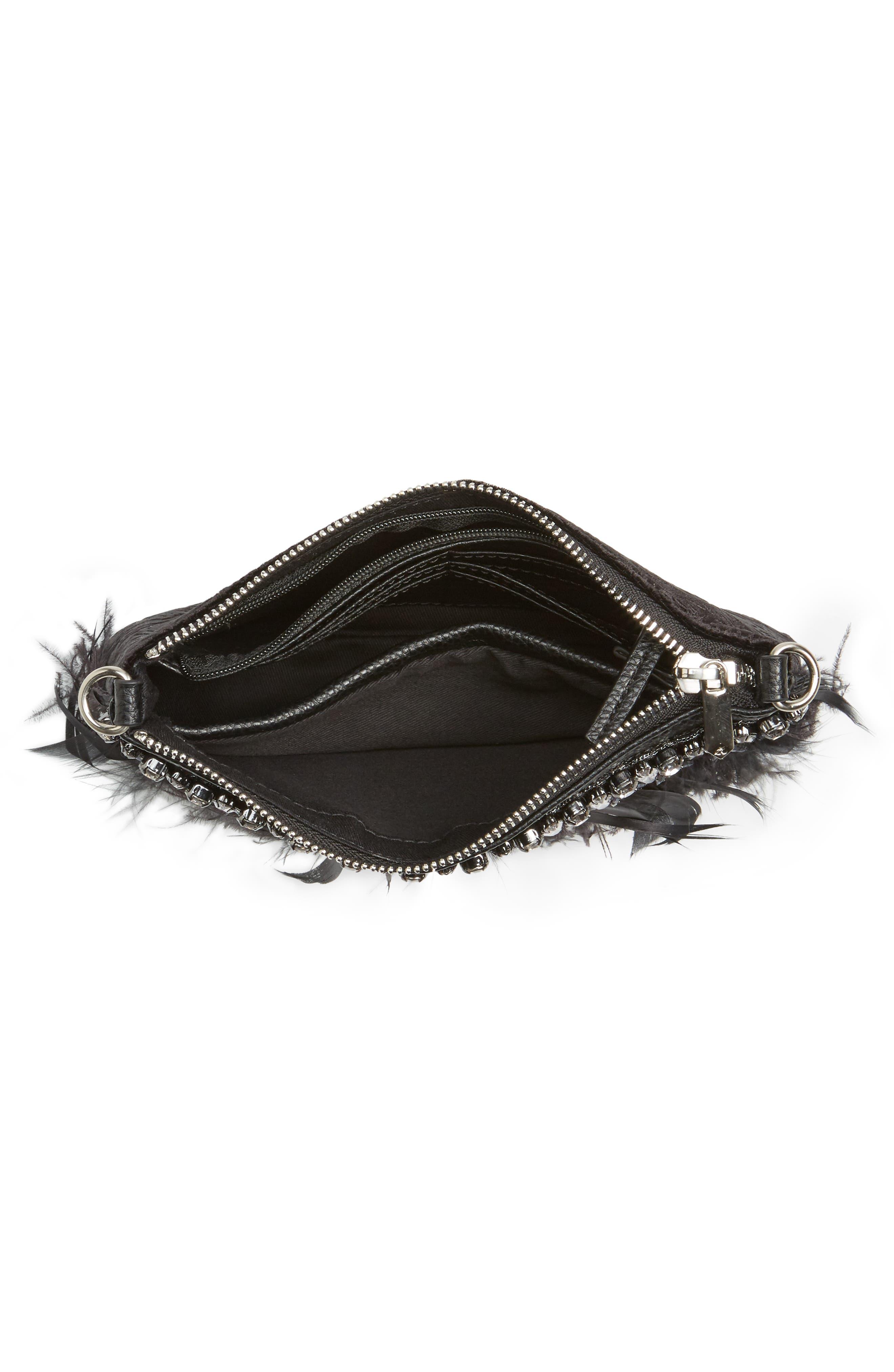 Alternate Image 4  - Sam Edelman Carrina Faux Leather Convertible Clutch