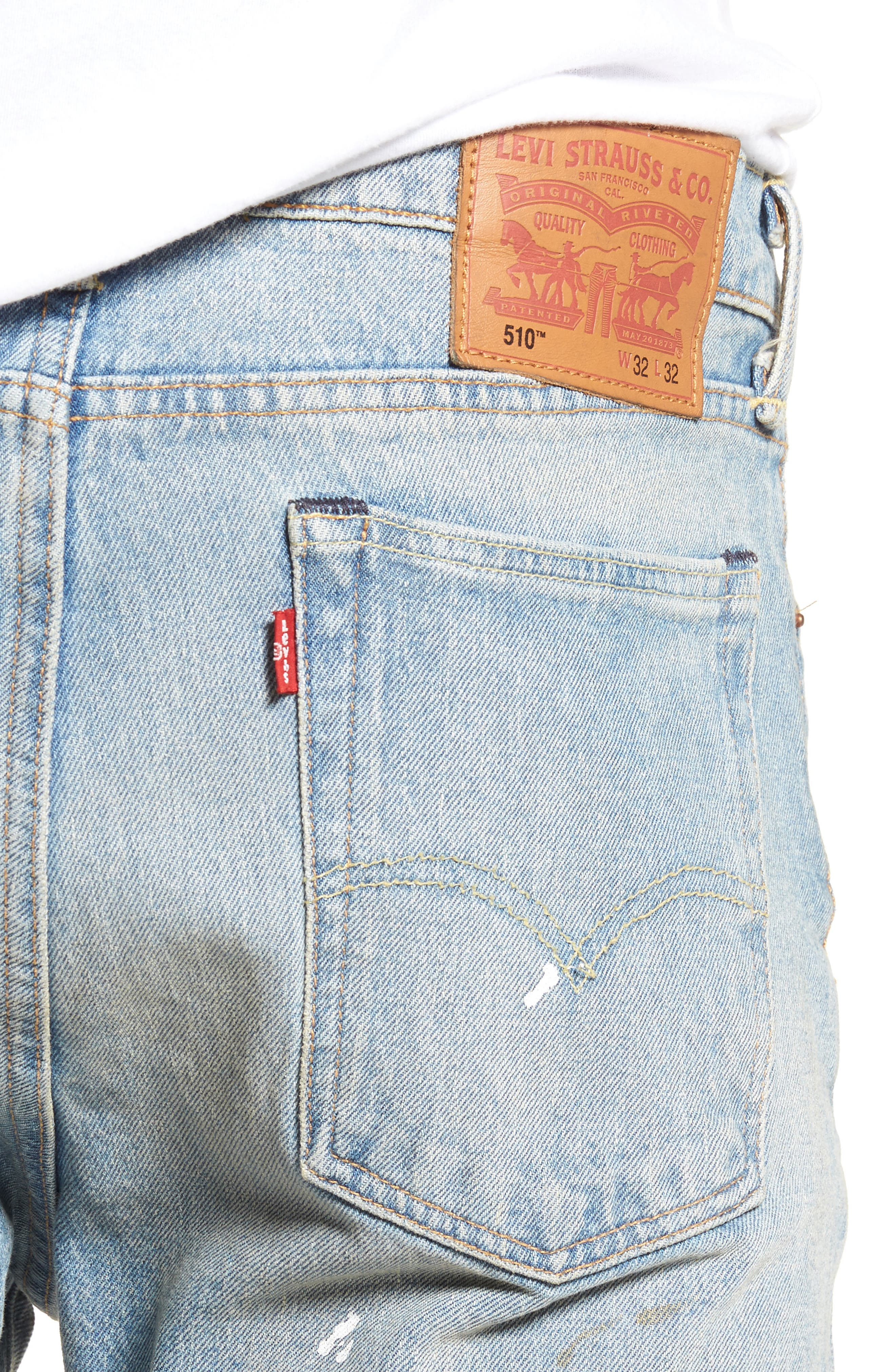 510<sup>™</sup> Skinny Fit Jeans,                             Alternate thumbnail 4, color,                             Mitchell