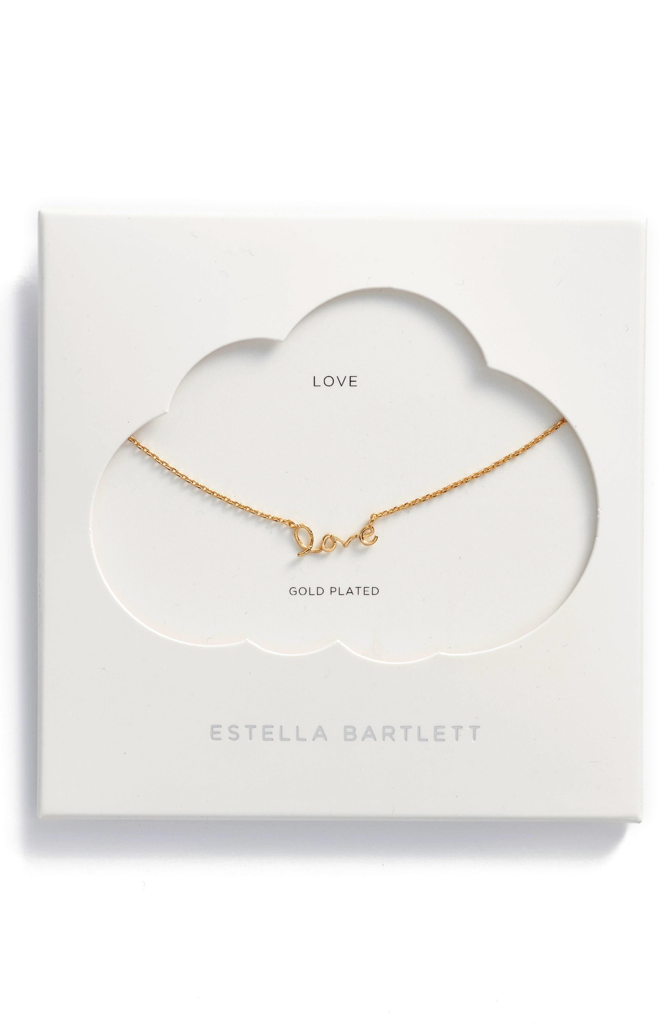 Alternate Image 1 Selected - Estella Bartlett Love Pendant Necklace