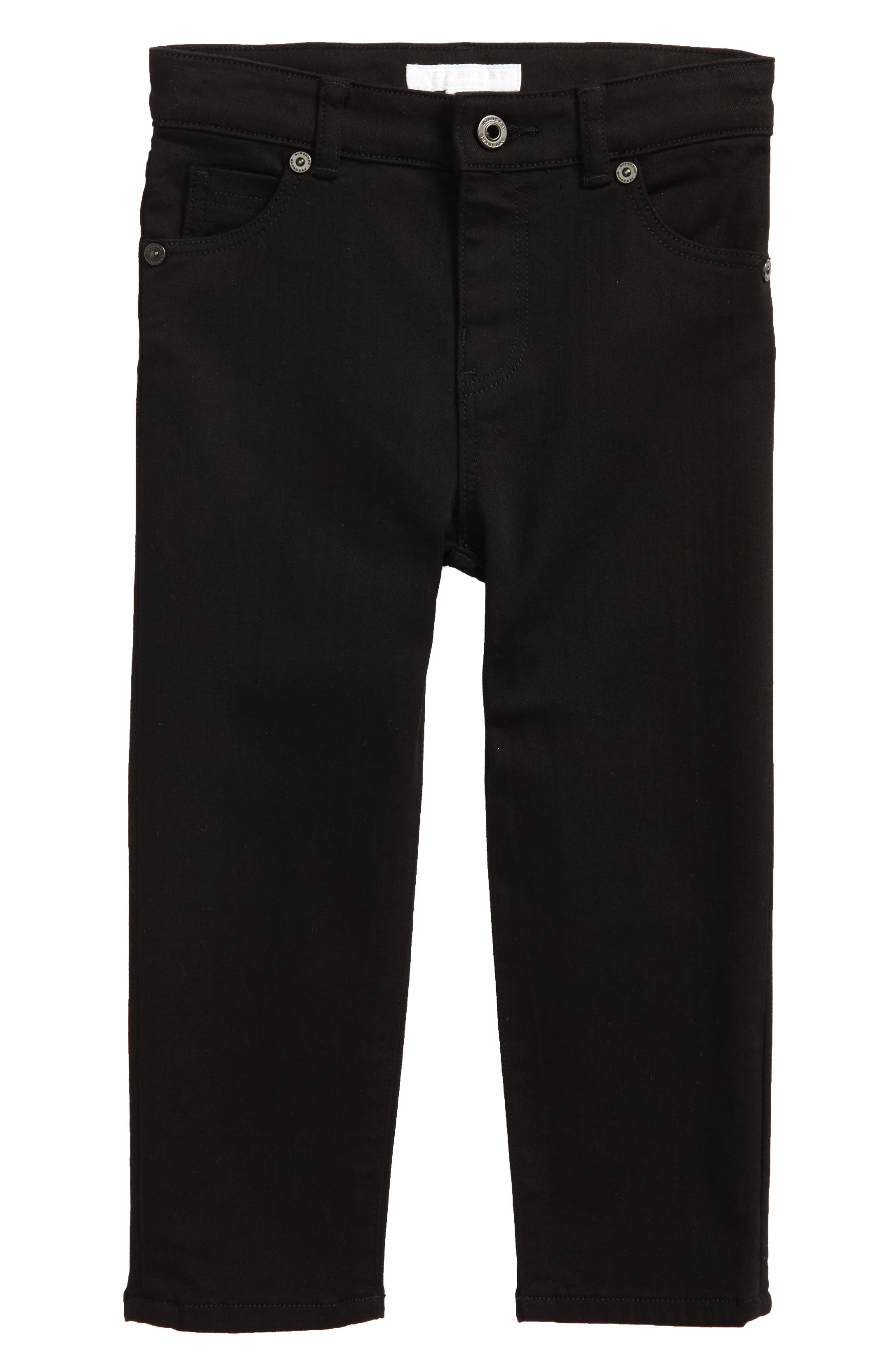 Main Image - Burberry Skinny Jeans (Toddler Boys, Little Boys & Big Boys)