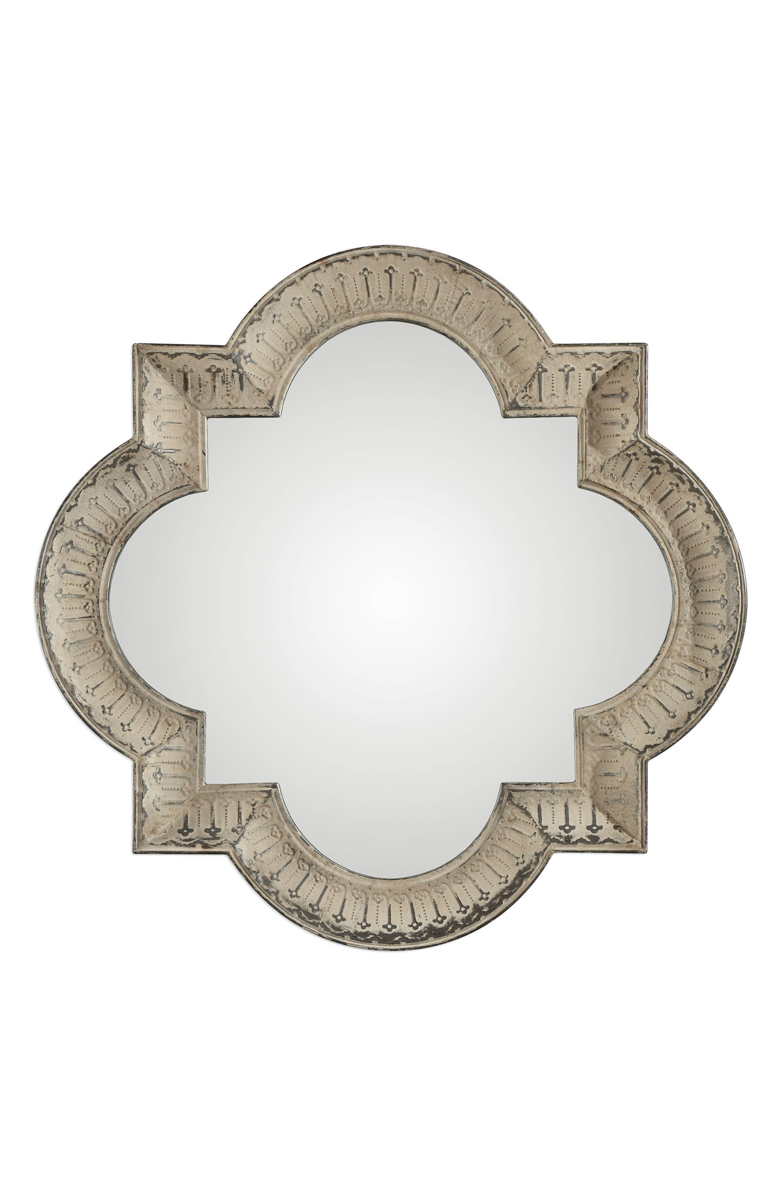 Giada Wall Mirror,                         Main,                         color, Ivory