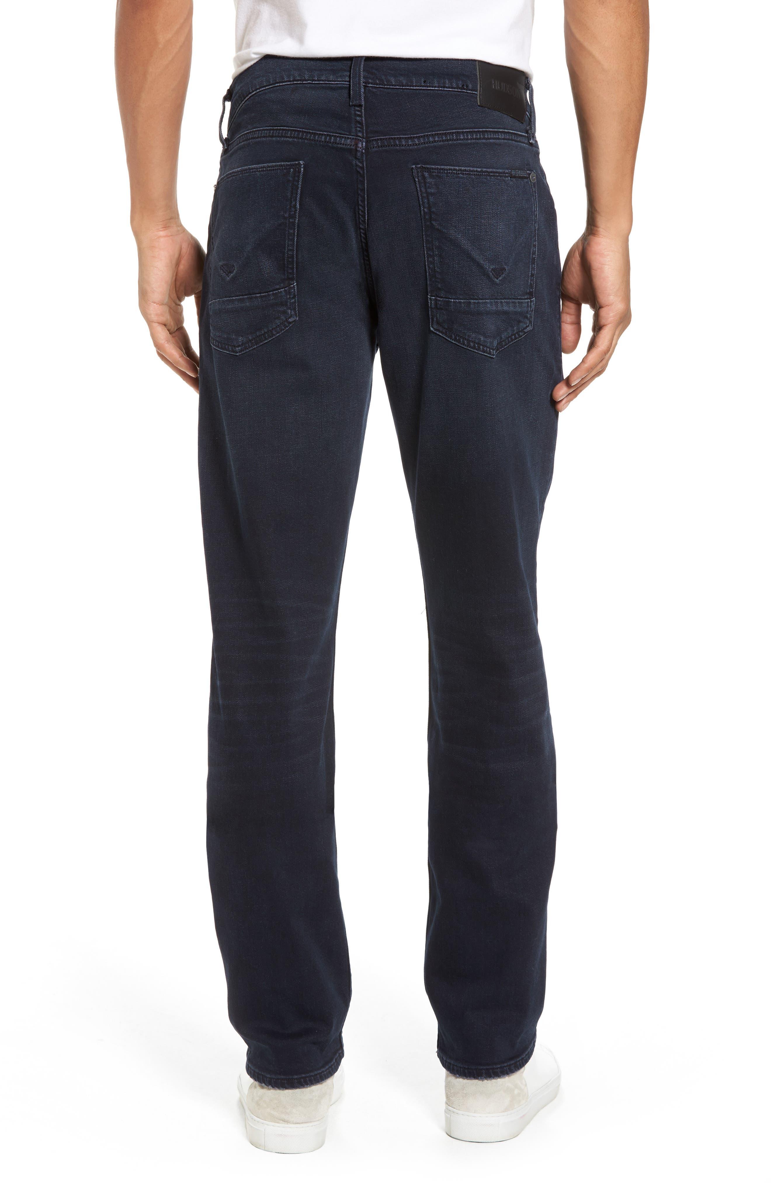 Byron Slim Straight Leg Jeans,                             Alternate thumbnail 2, color,                             Threaten