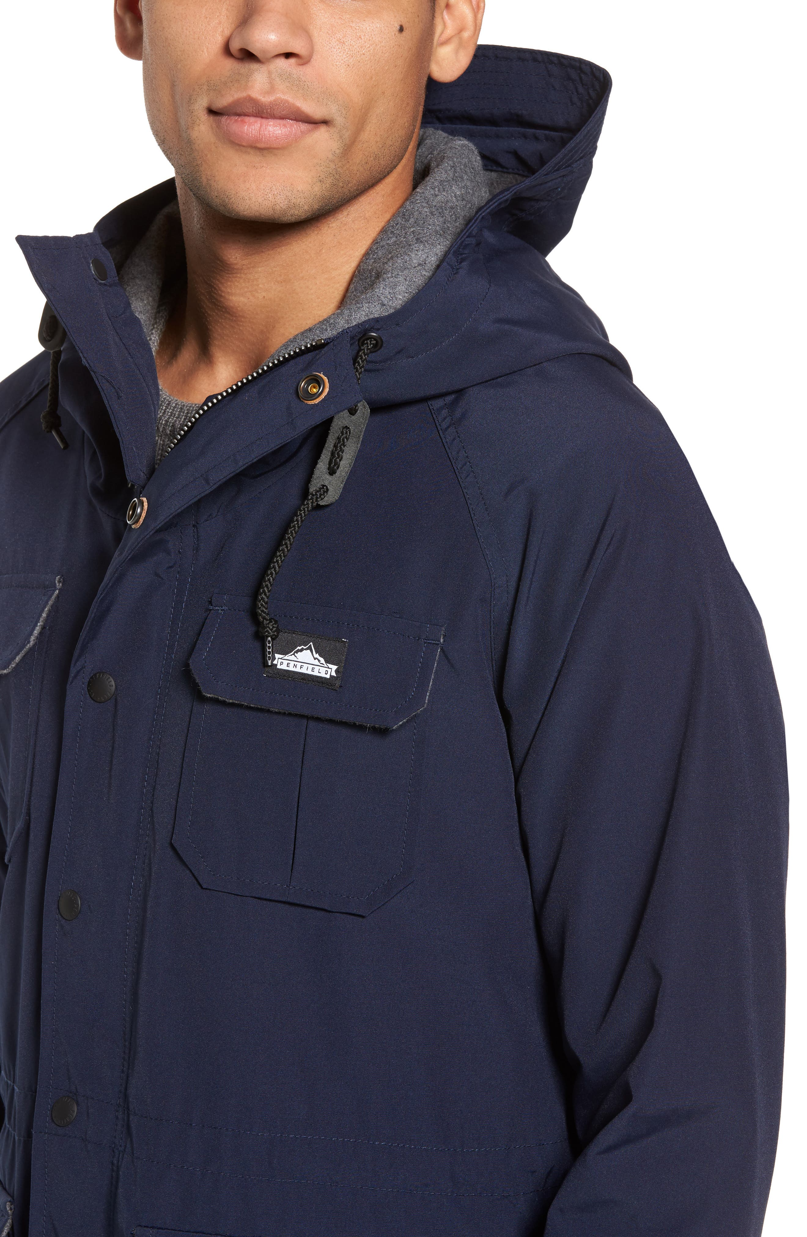 Kasson Parka,                             Alternate thumbnail 4, color,                             Navy