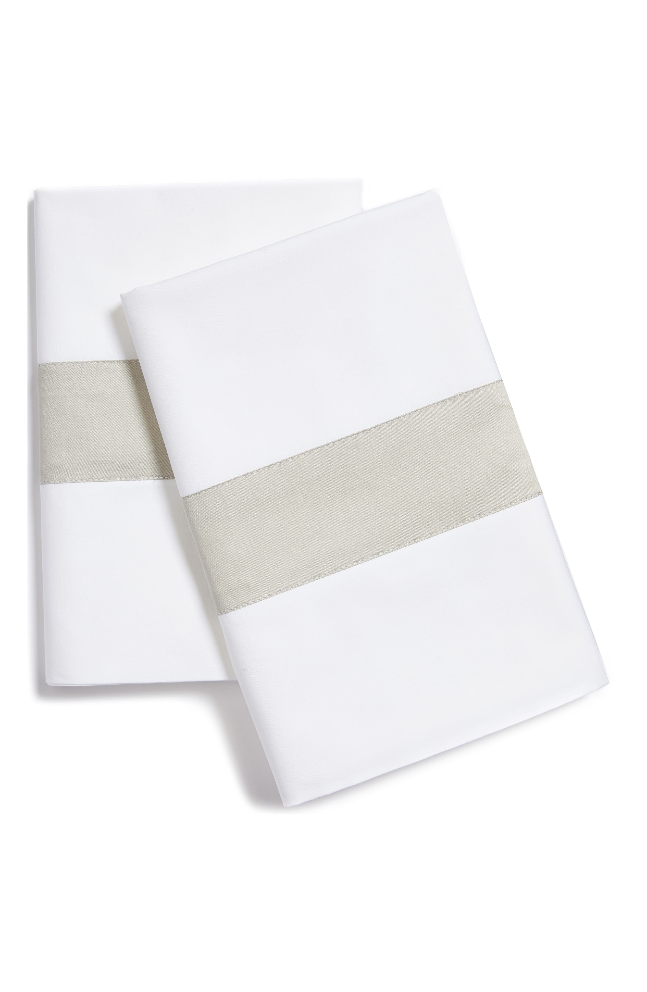 Alternate Image 1 Selected - SFERRA Orlo Pillowcase