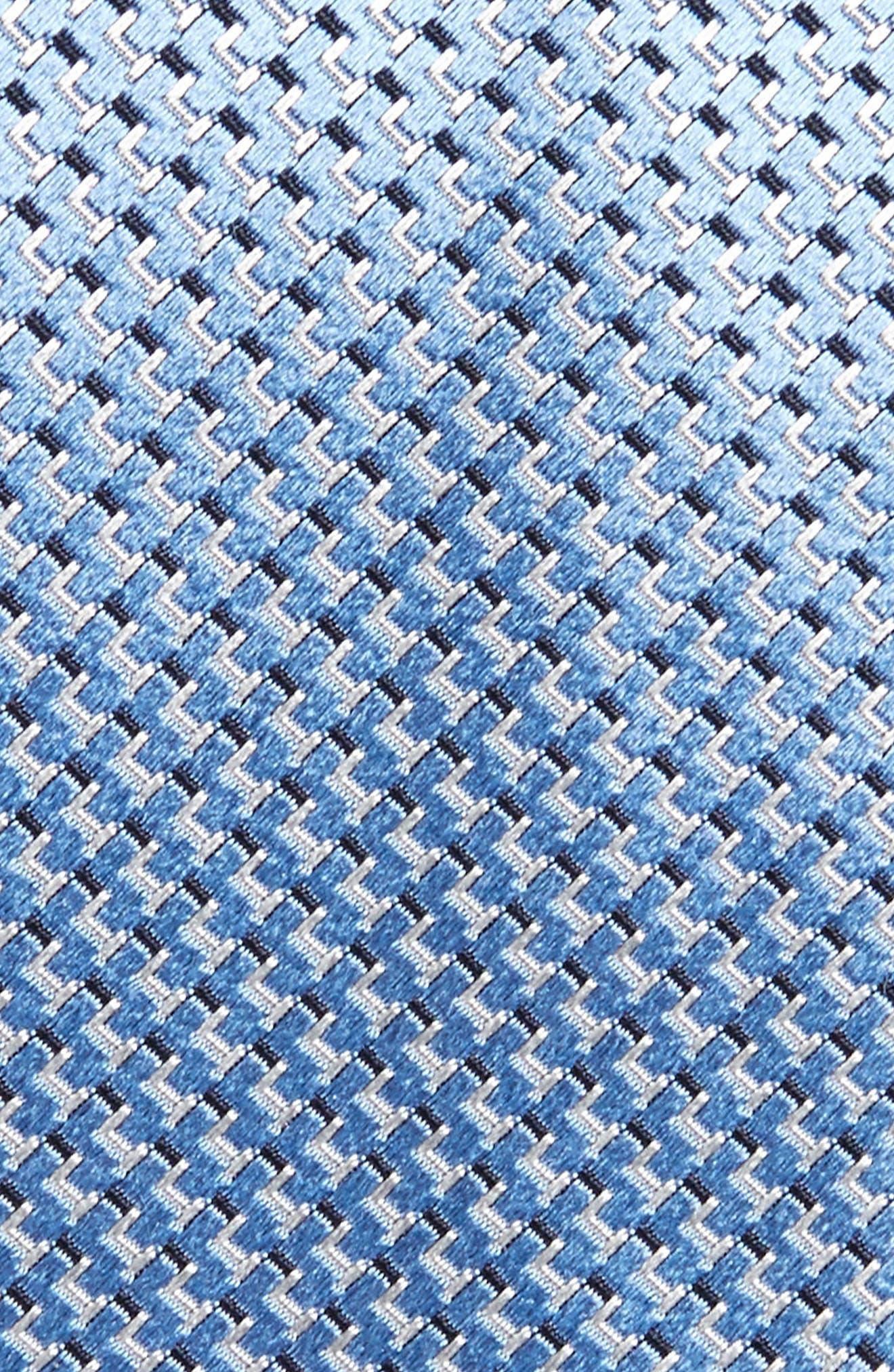 Solid Silk Tie,                             Alternate thumbnail 2, color,                             Light Blue