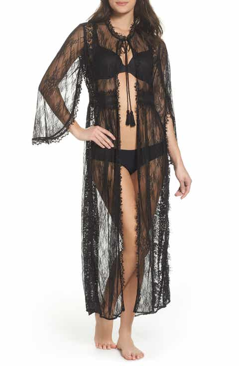 Free People Intimately FP Chelsea Lace Robe