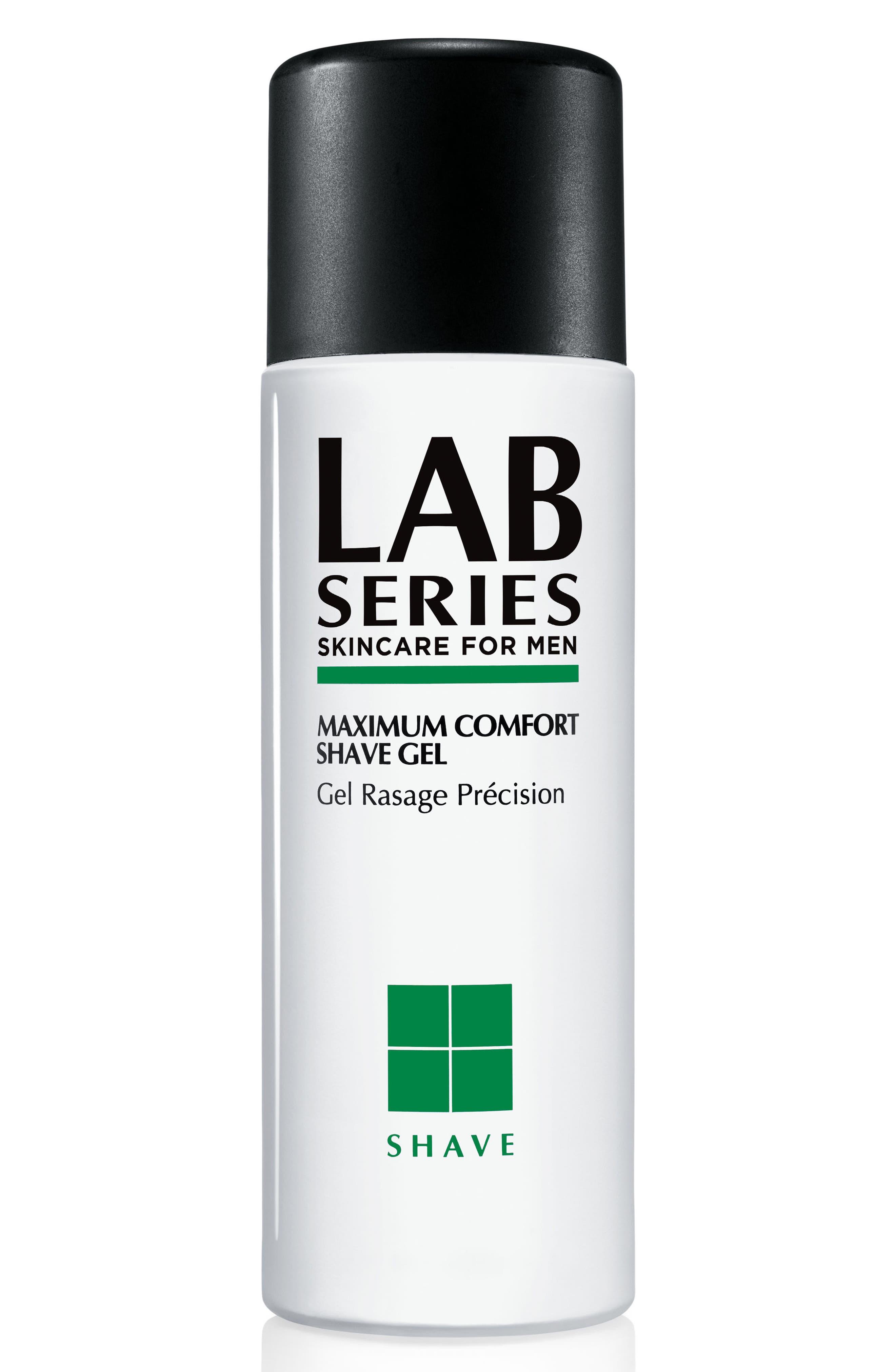 Maximum Comfort Shave Gel,                             Main thumbnail 1, color,                             No Color