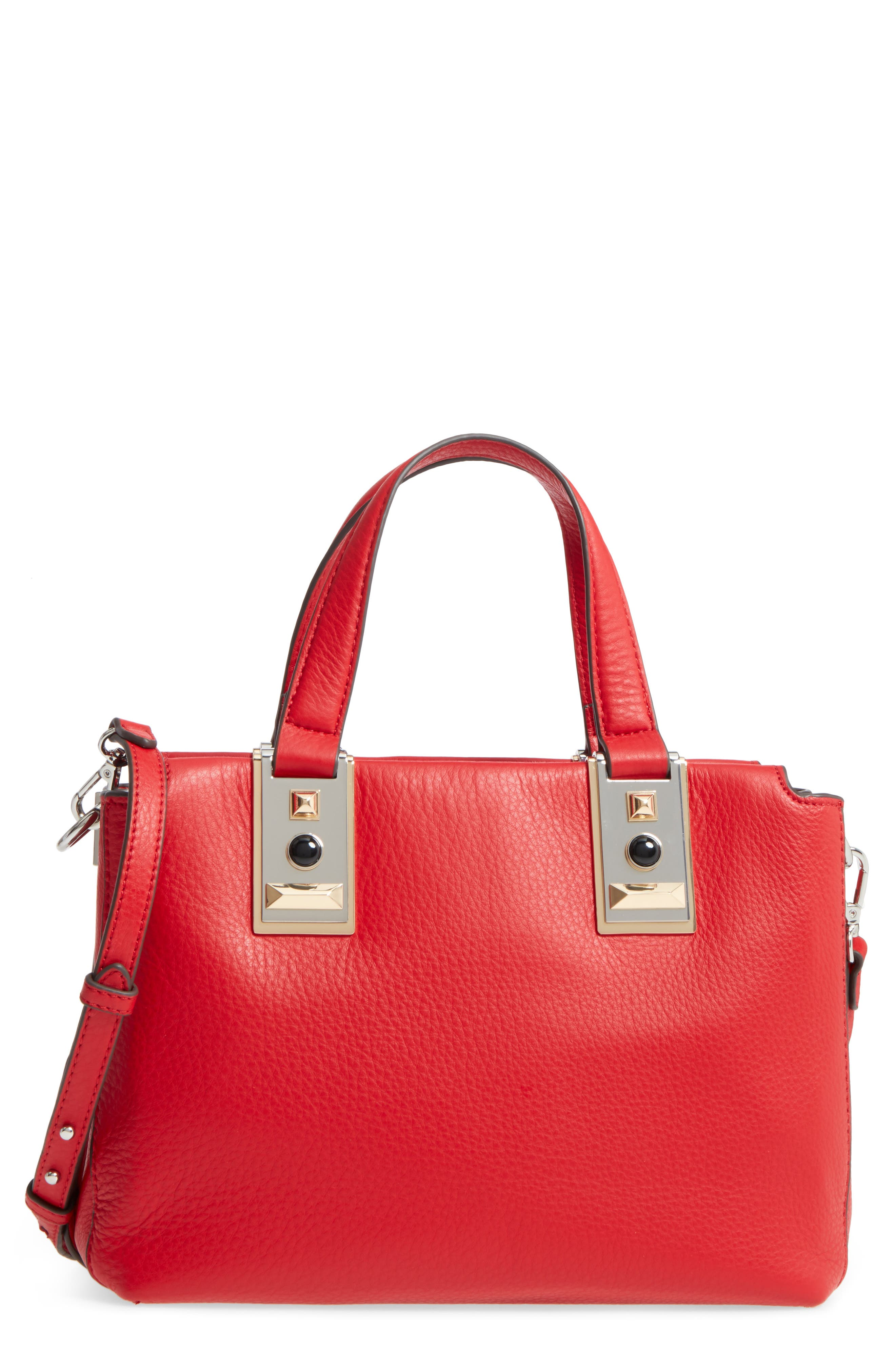 Main Image - Vince Camuto Bitty Leather Satchel