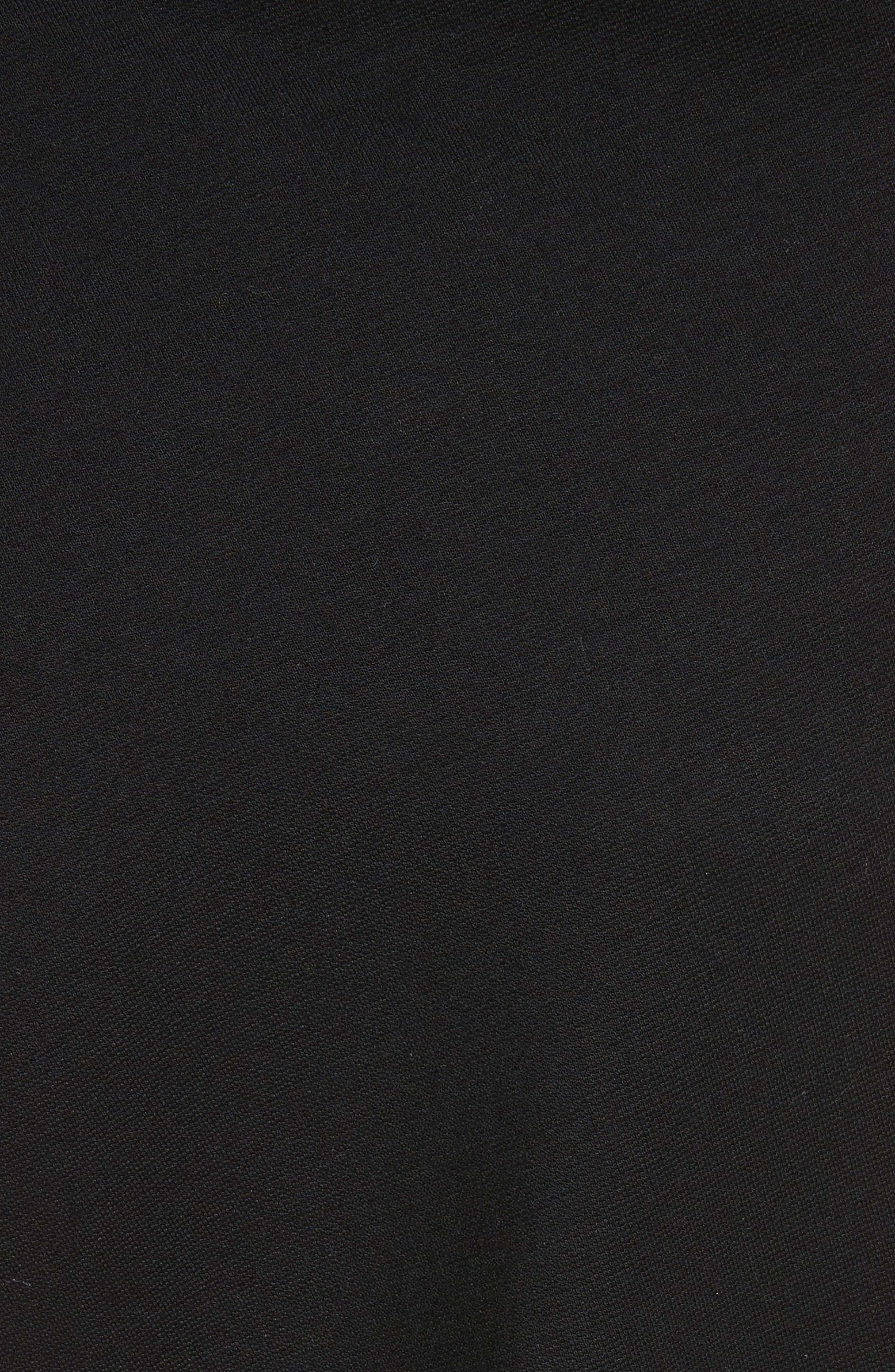 Alternate Image 5  - Rosetta Getty Slashed Panel Jersey Skirt
