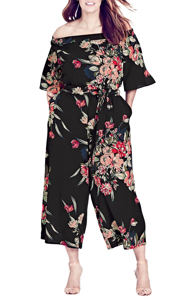 Misty Floral Jumpsuit