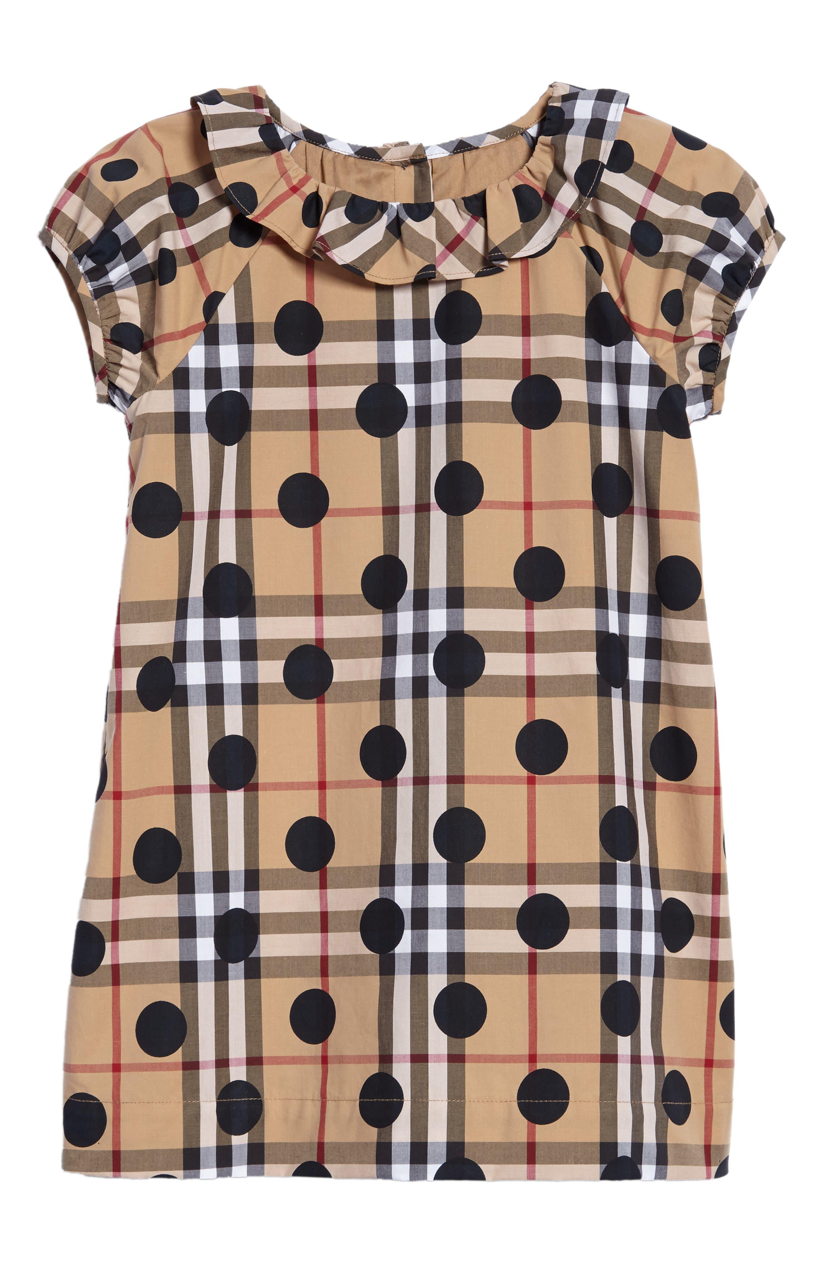 Burberry Annie Shift Dress (Baby Girls & Toddler Girls)