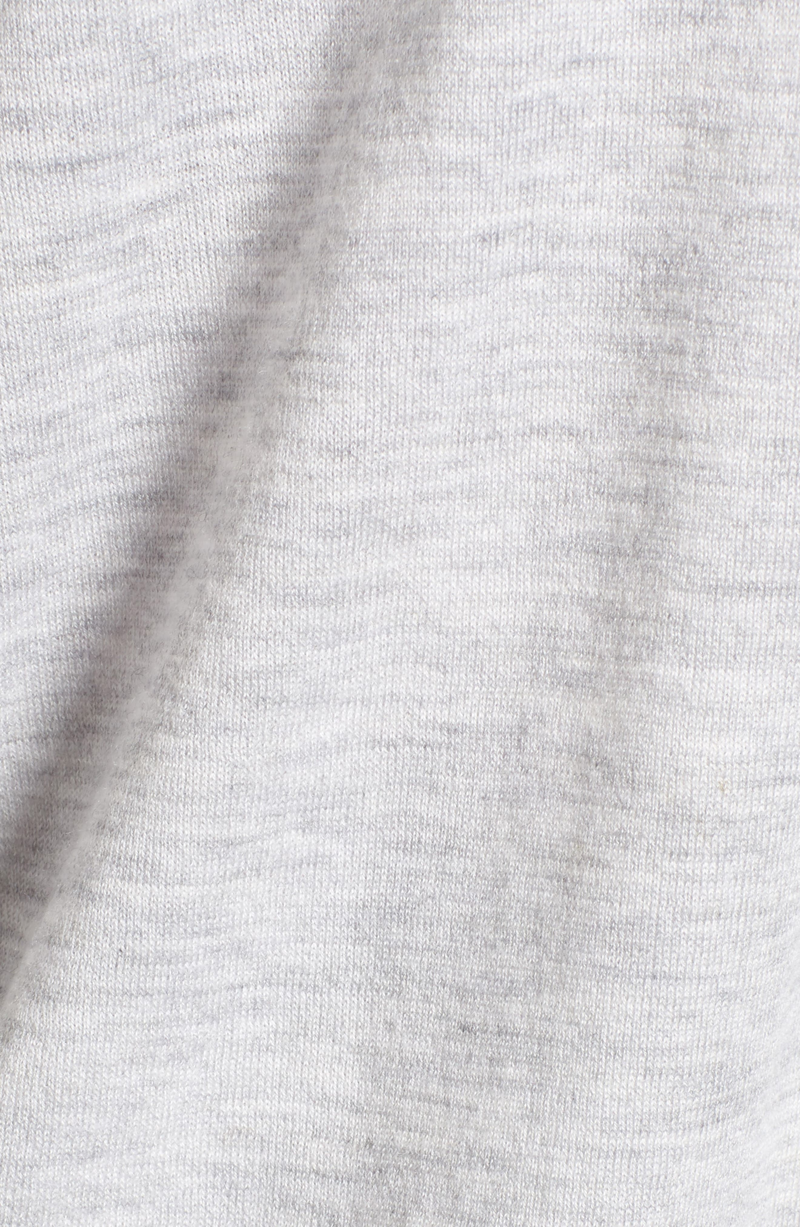 Cashmere Cardigan,                             Alternate thumbnail 5, color,                             Grey Clay Heather
