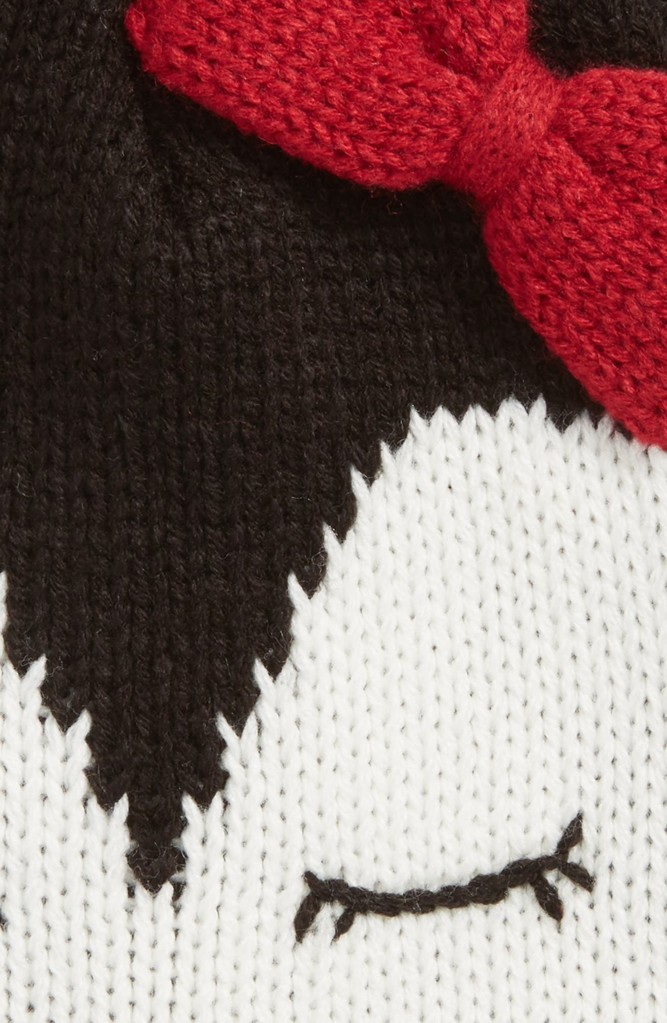 Penguin Face Beanie,                             Alternate thumbnail 2, color,                             Black Penguin