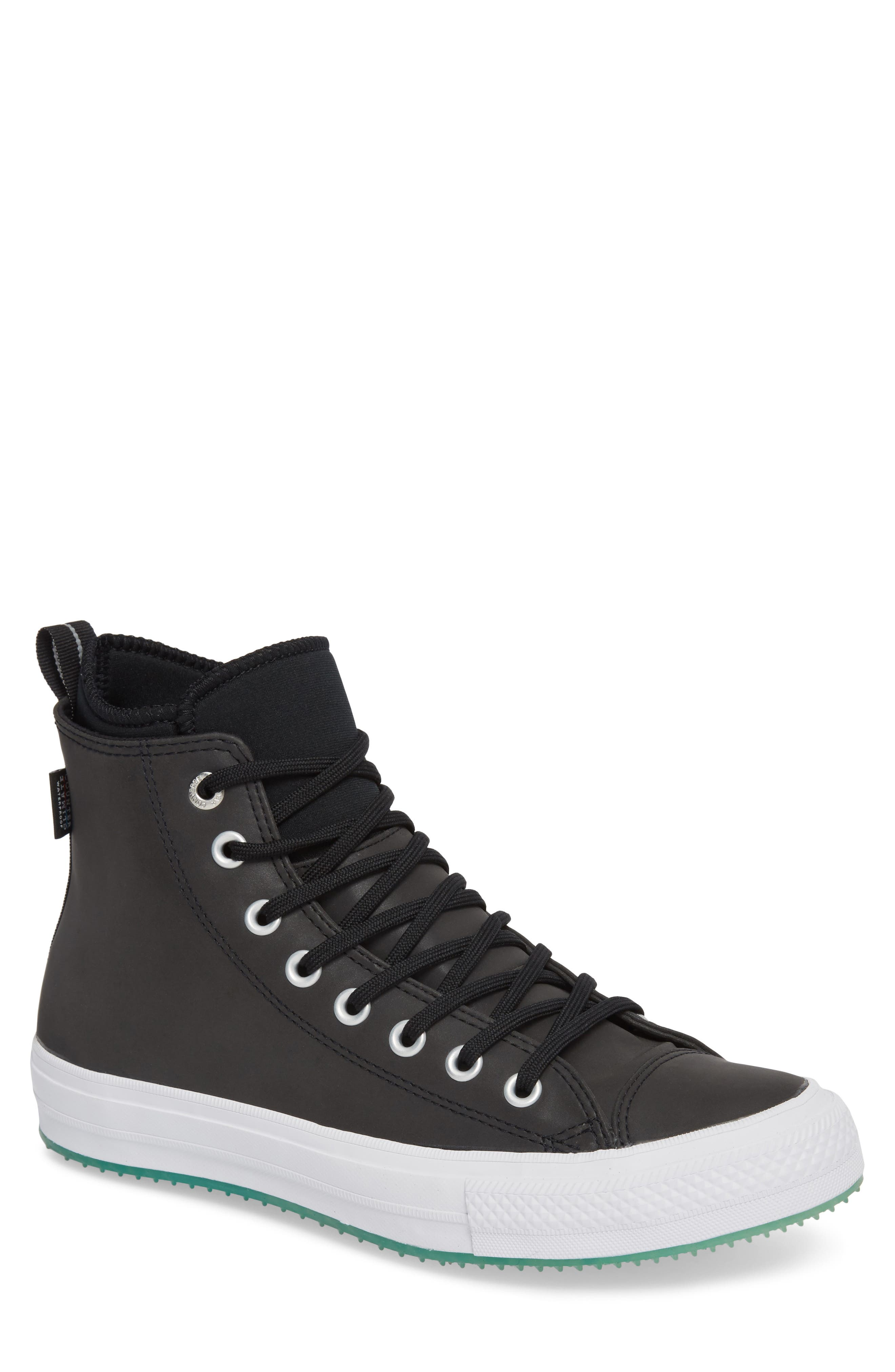 Chuck Taylor<sup>®</sup> All Star<sup>®</sup> Counter Climate Waterproof Sneaker,                         Main,                         color, Black