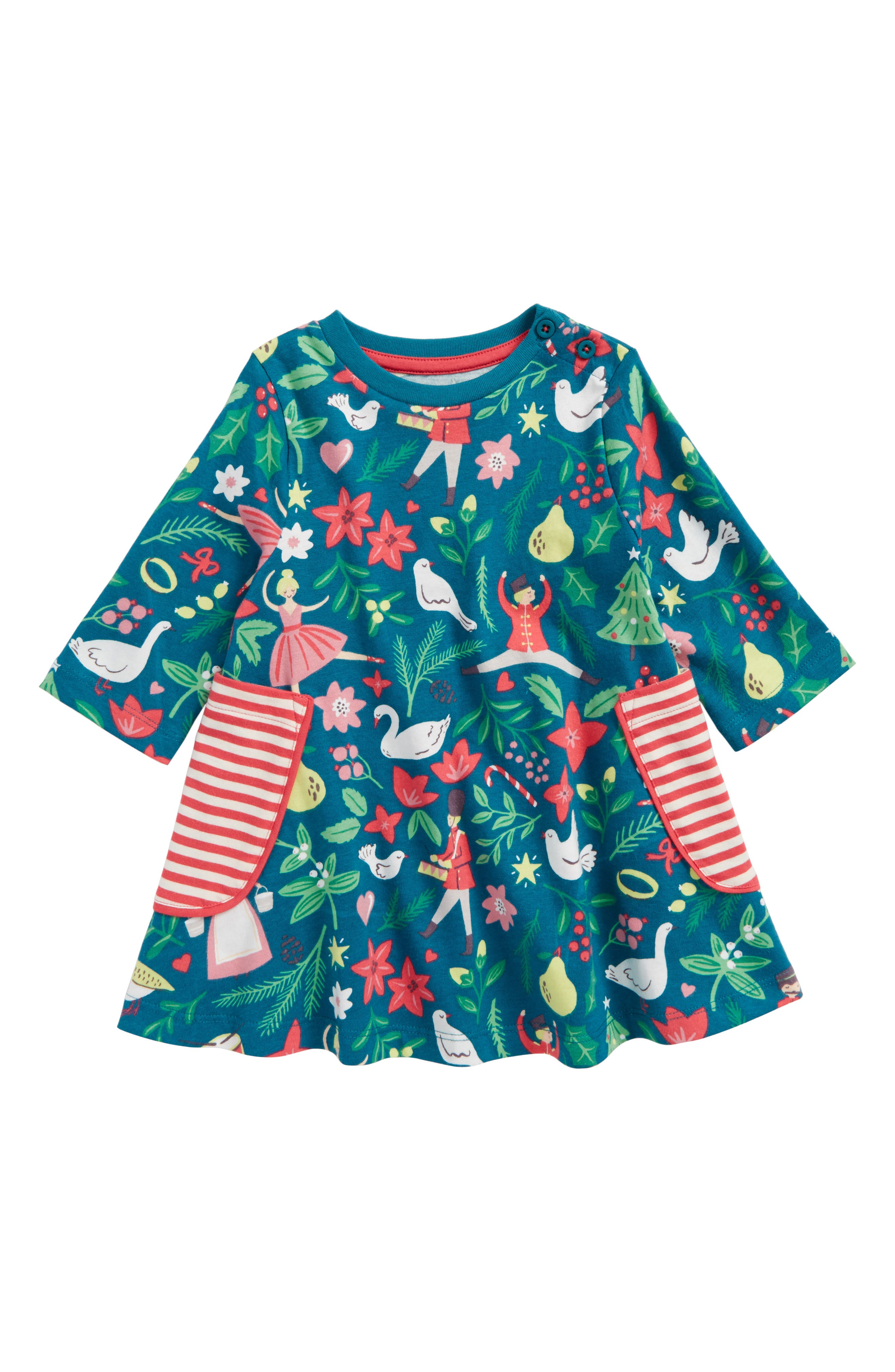 Mini Boden Print Tunic (Toddler Girls, Little Girls & Big Girls)