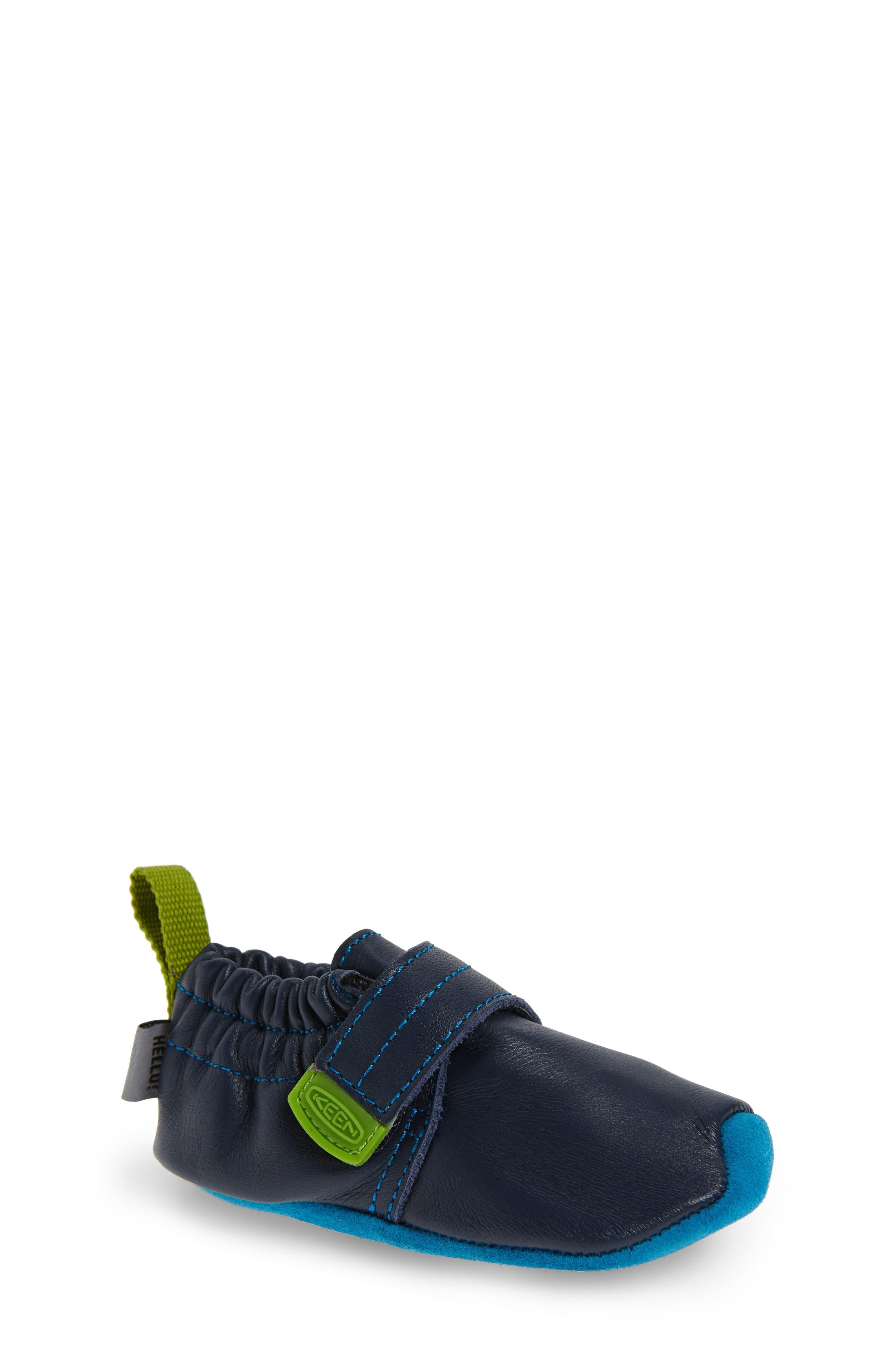 Alternate Image 1 Selected - Keen Leo Crib Shoe (Baby & Walker)