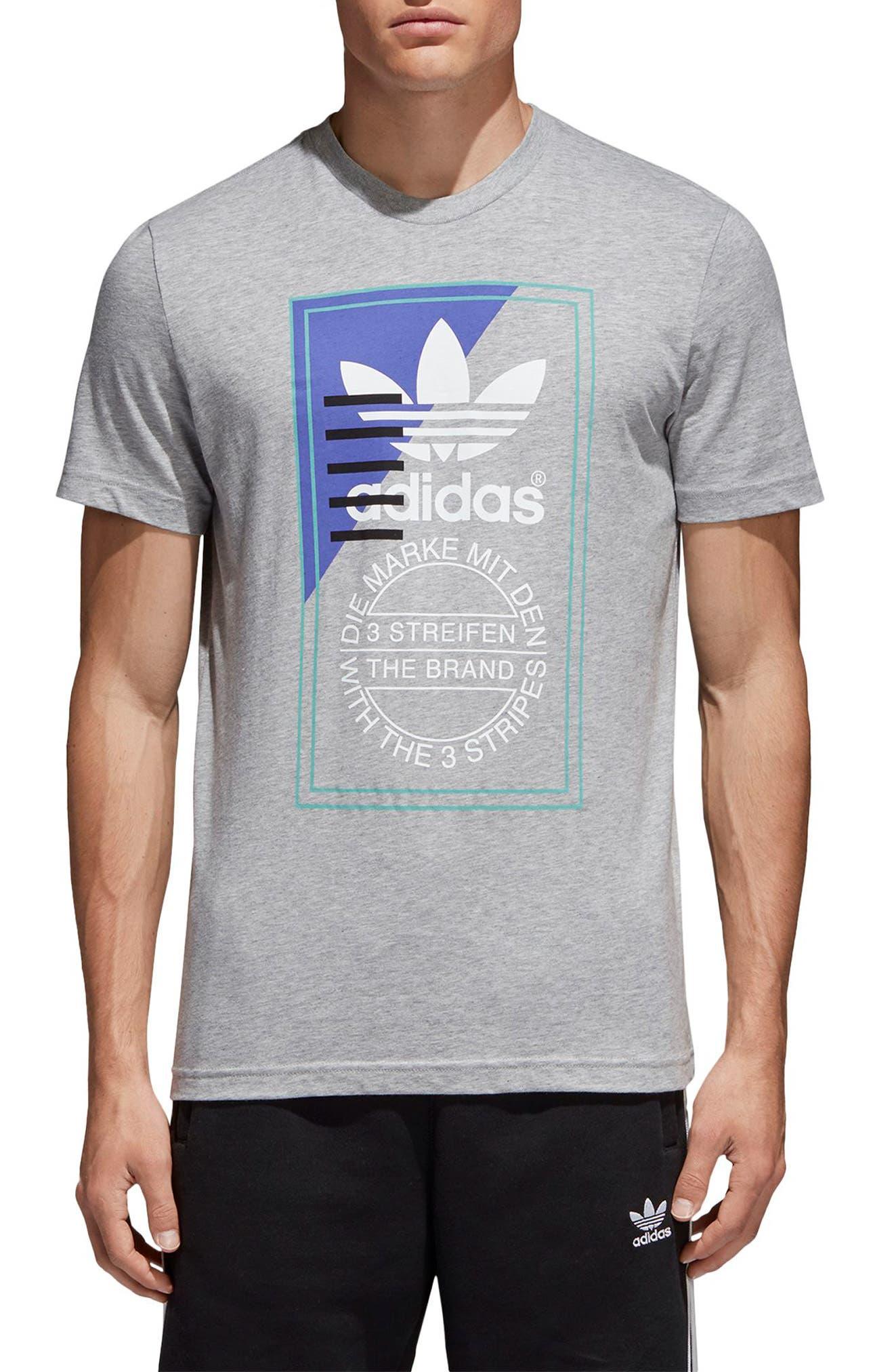 Gli Uomini È Adidas Originali T Shirt Vestiti, Scarpe E Accessori Di Vendita