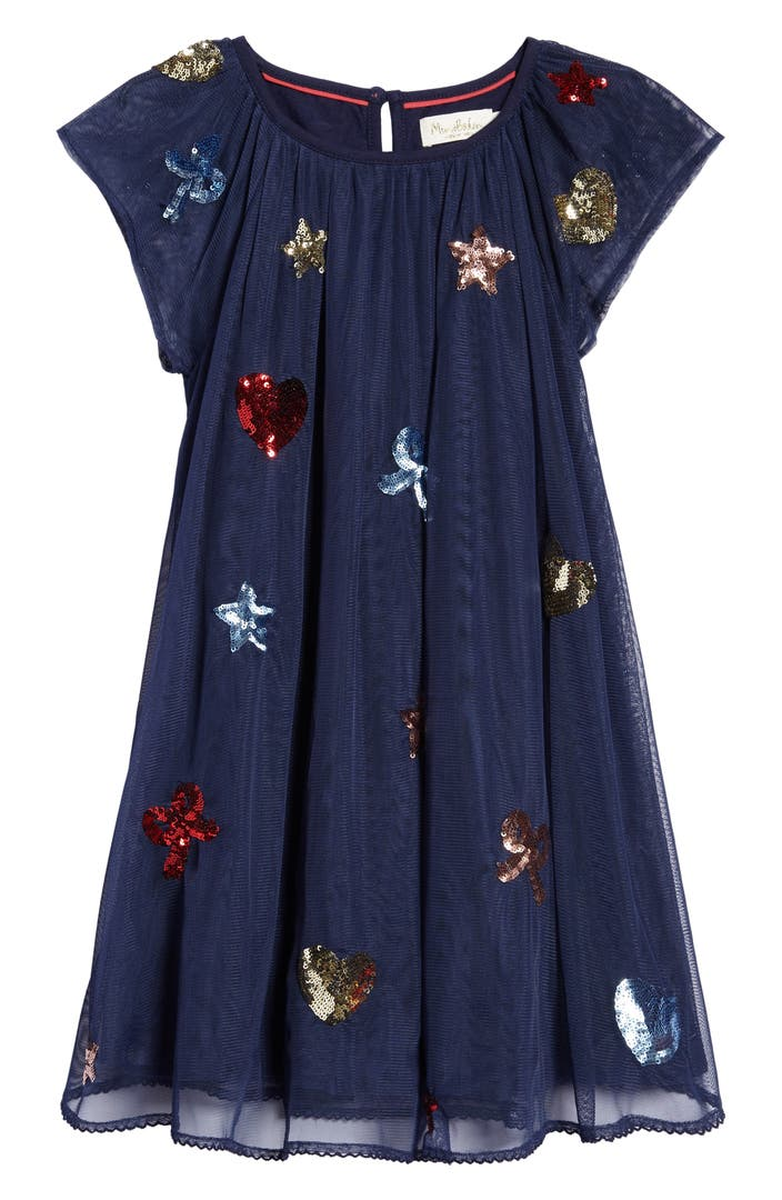 Mini boden sequin patches tulle dress toddler girls for Shop mini boden
