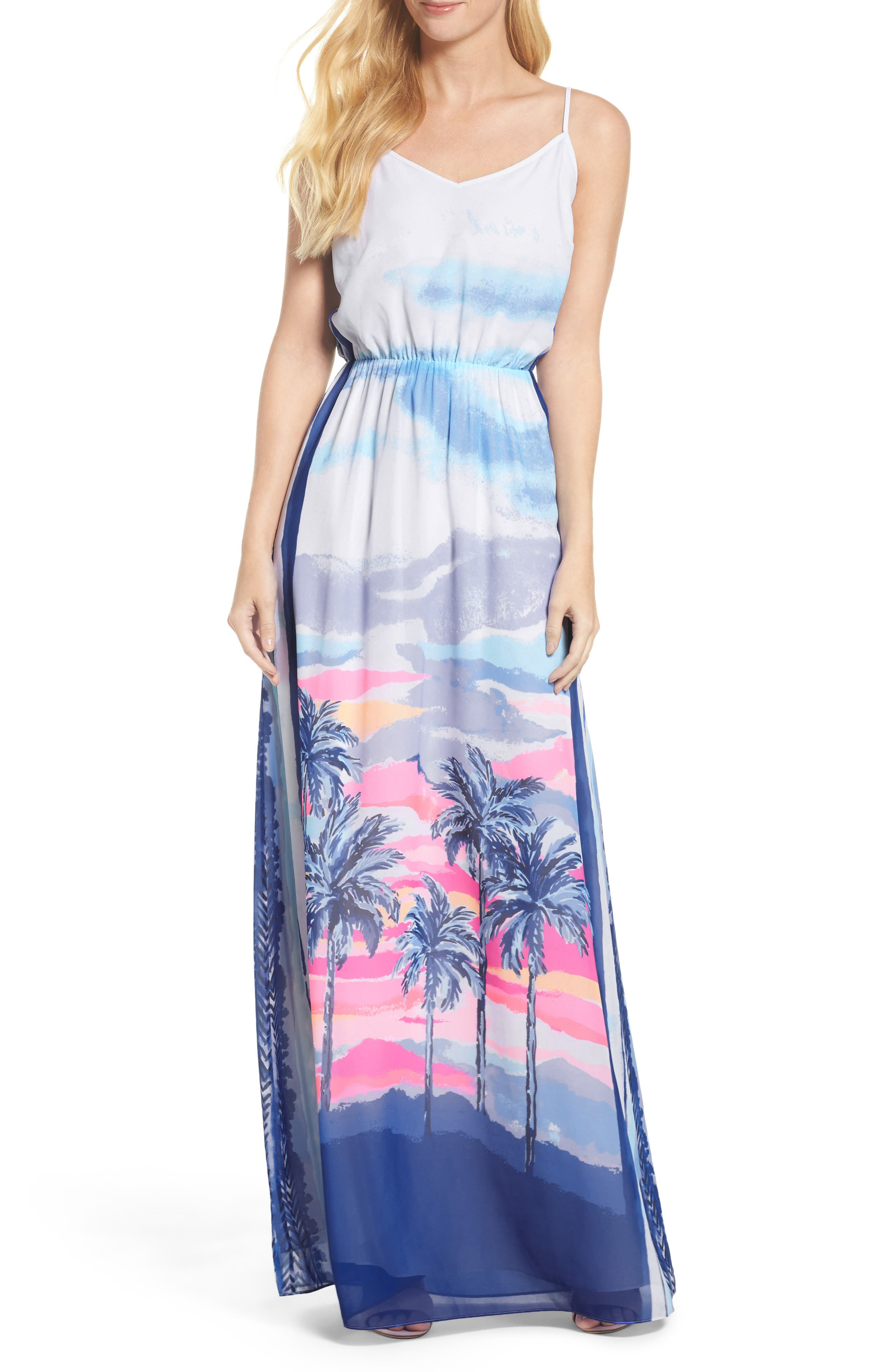 Alternate Image 1 Selected - Lilly Pulitzer® Deanna Maxi Dress