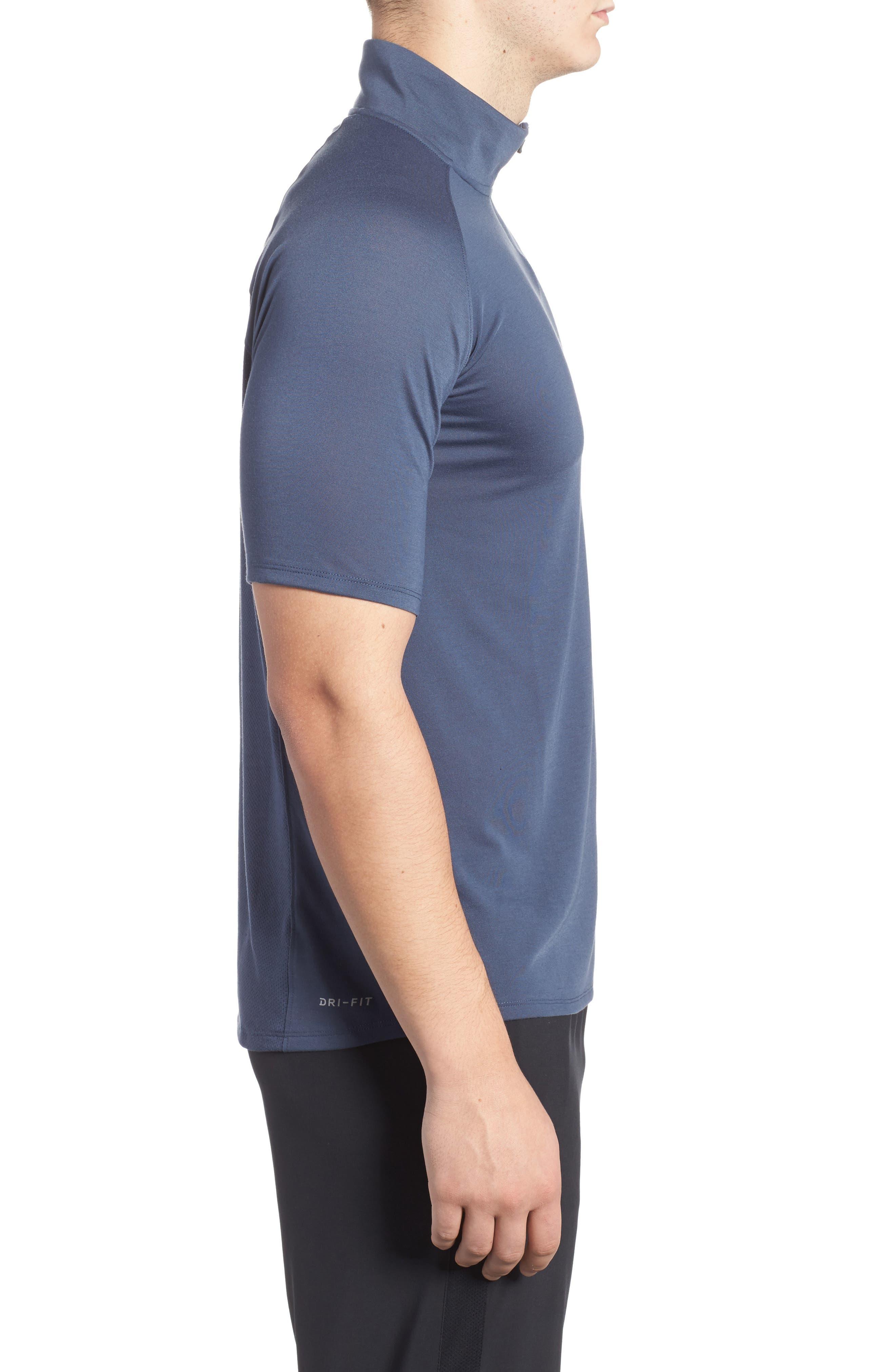 Tailwind Running T-Shirt,                             Alternate thumbnail 3, color,                             Thunder Blue